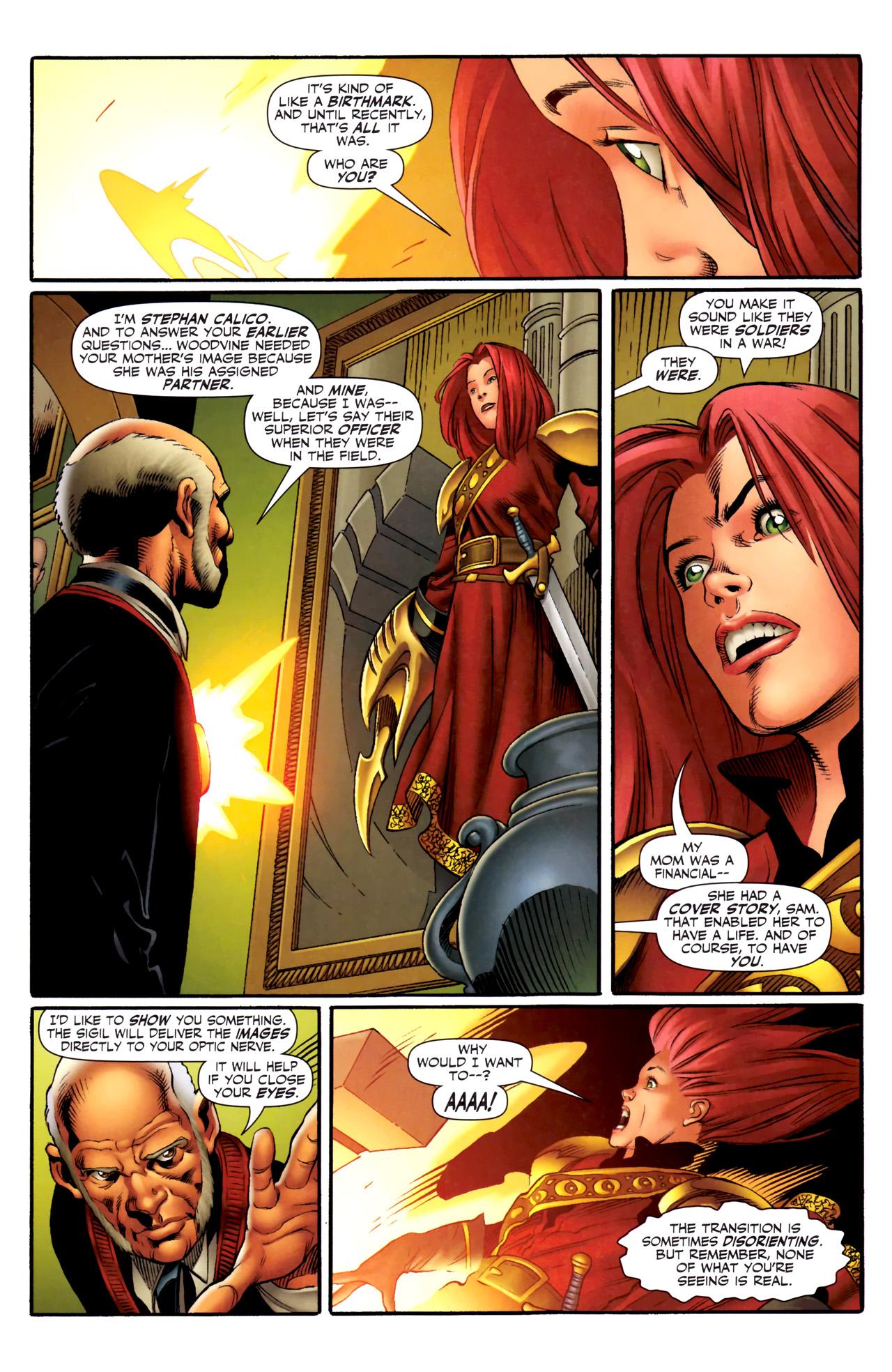 Read online Sigil (2011) comic -  Issue #3 - 13
