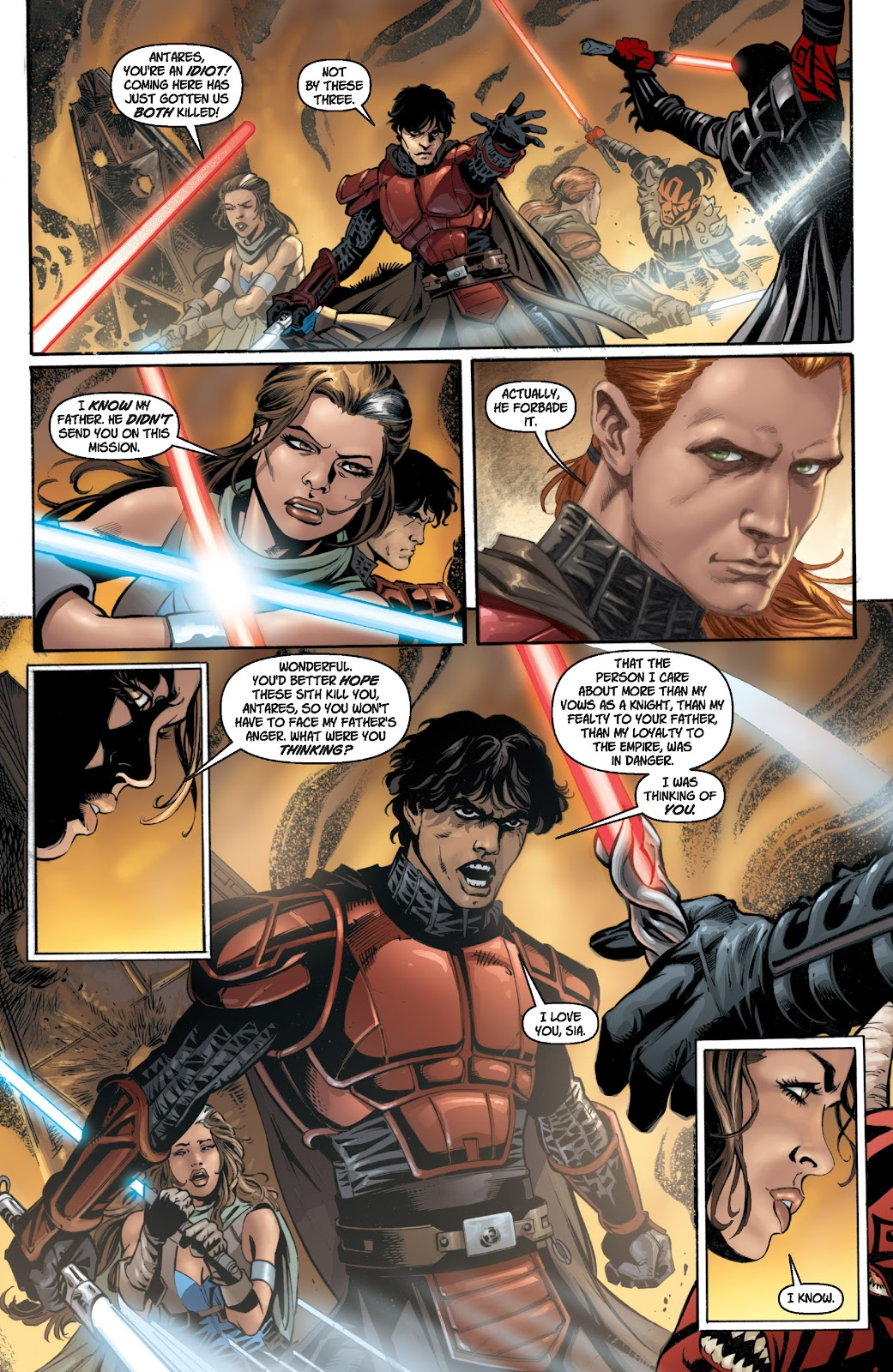 Read online Star Wars Legends: Legacy - Epic Collection comic -  Issue # TPB 1 (Part 2) - 20