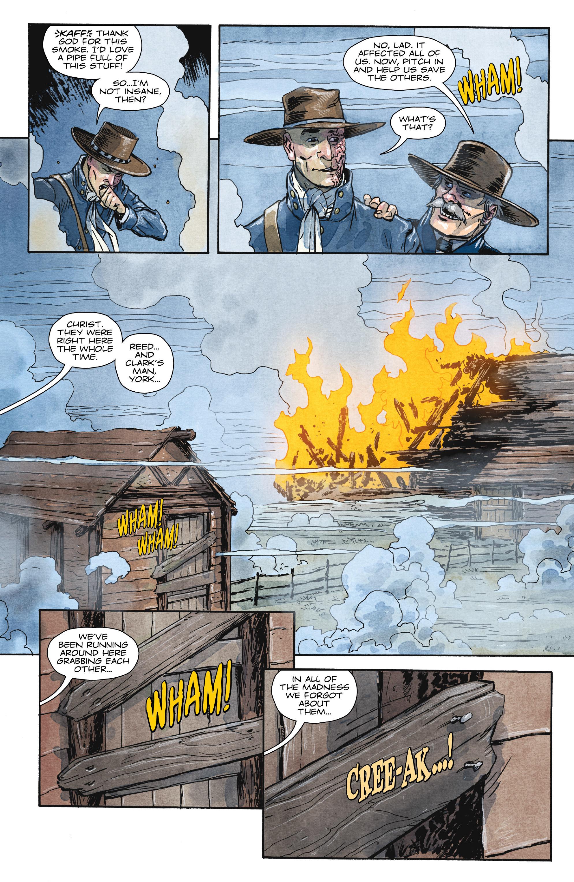 Read online Manifest Destiny comic -  Issue #29 - 13