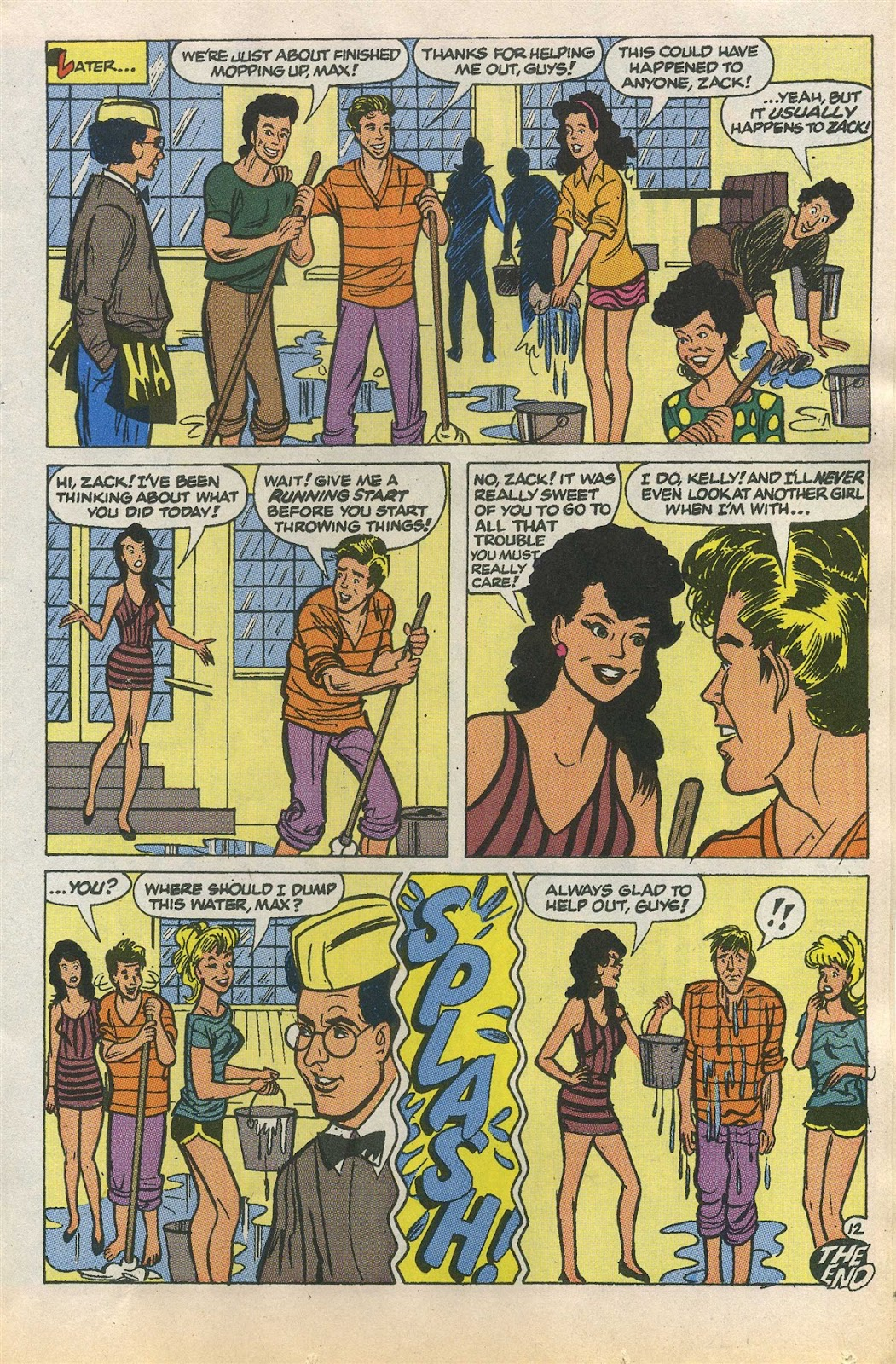 Read online Saved By The Bell comic -  Issue #1 - 17