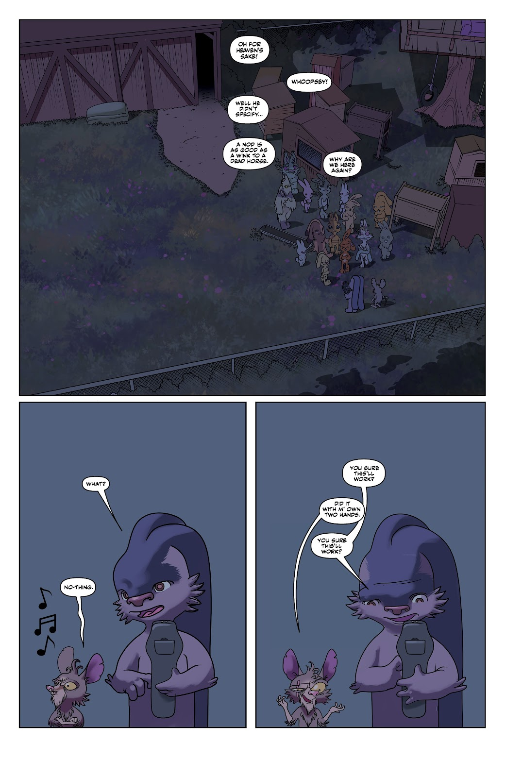 Read online Auntie Agatha's Home For Wayward Rabbits comic -  Issue #6 - 9