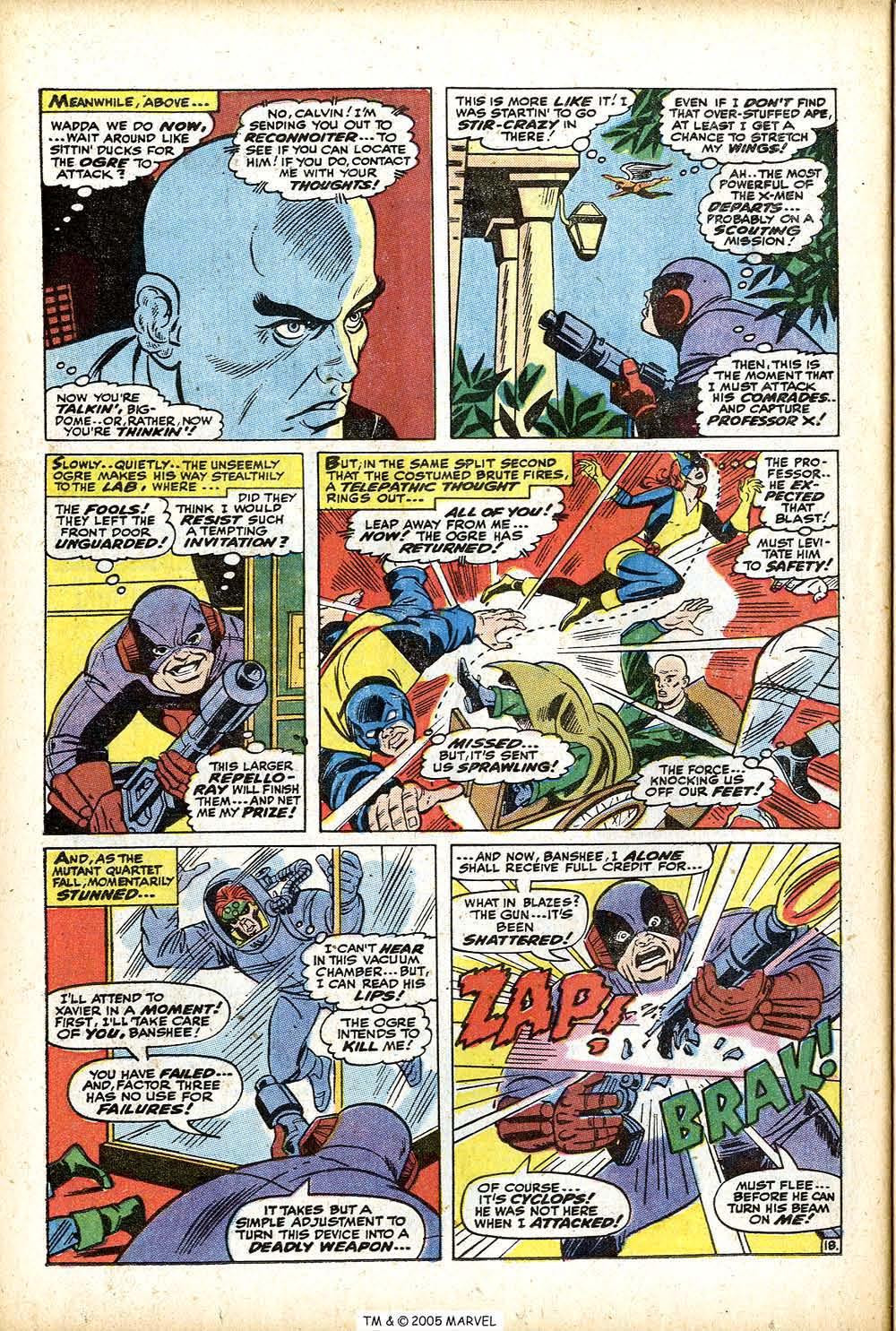 Uncanny X-Men (1963) 76 Page 25