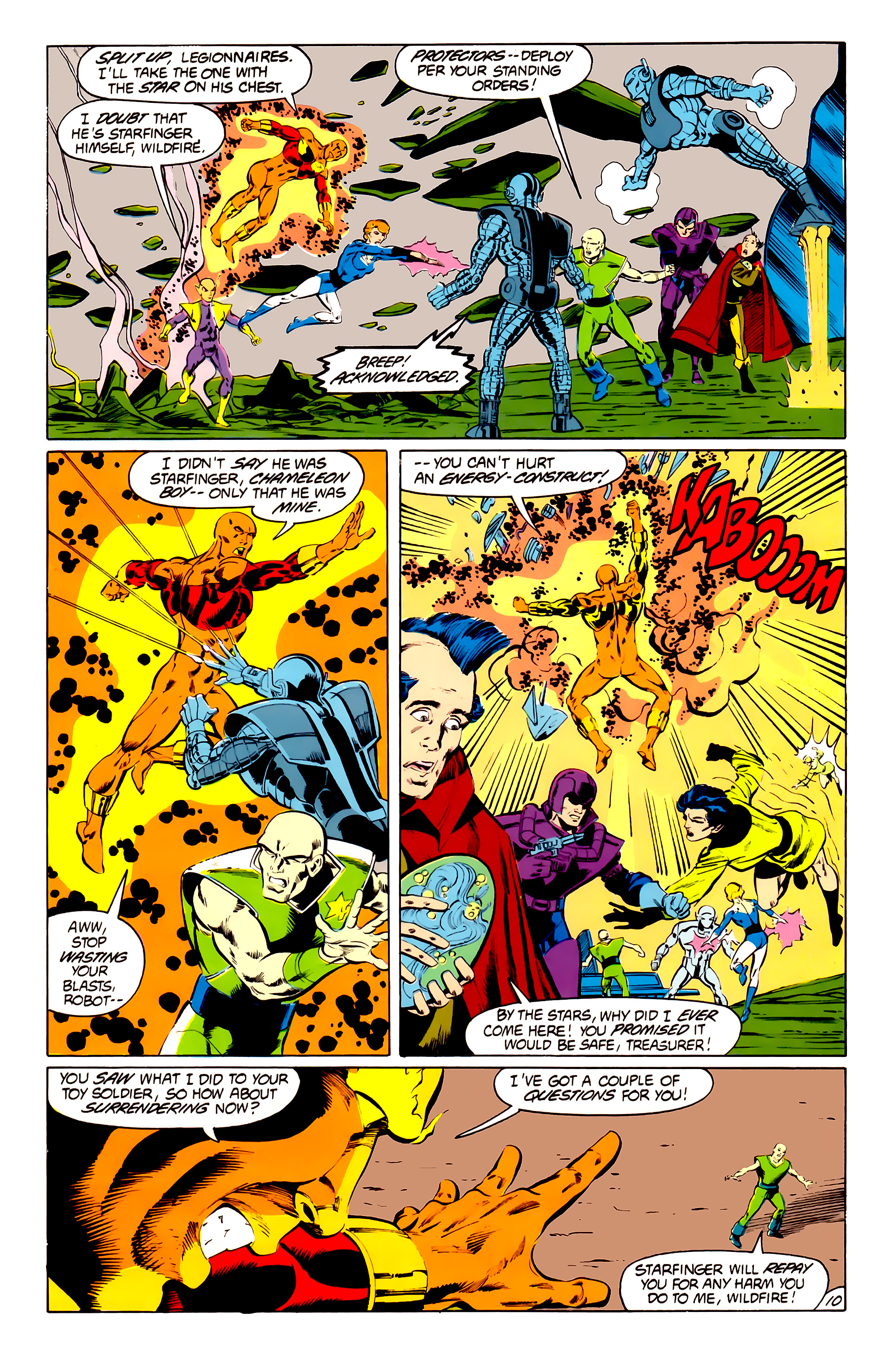 Legion of Super-Heroes (1984) 41 Page 10
