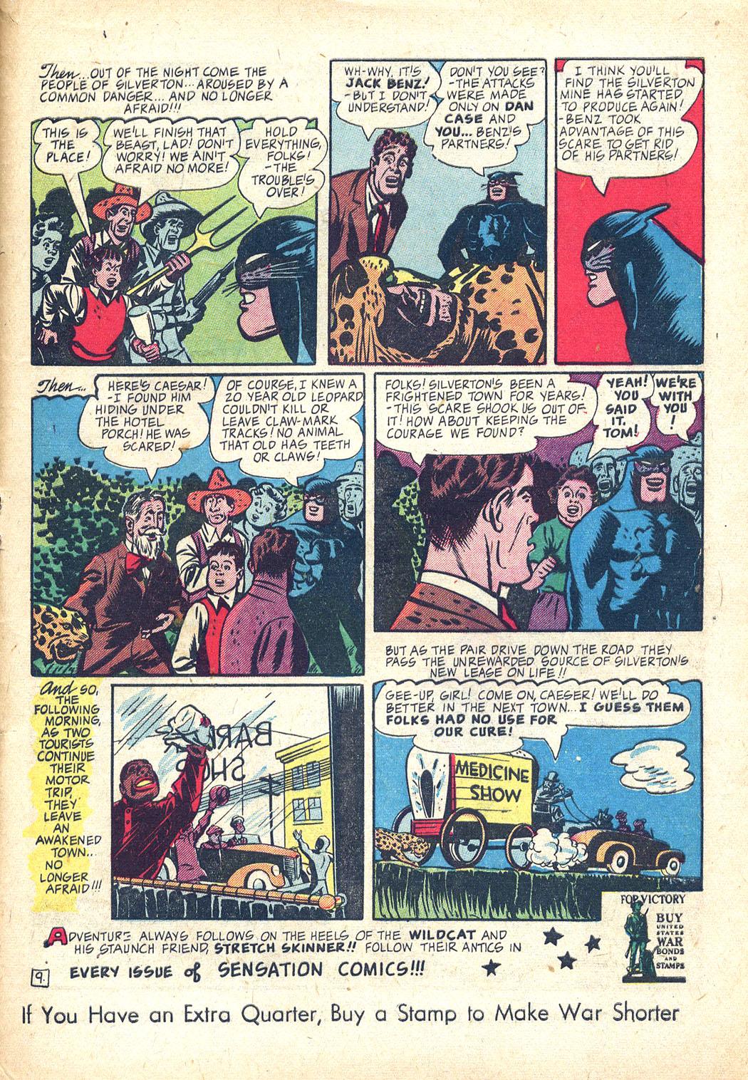 Read online Sensation (Mystery) Comics comic -  Issue #34 - 49