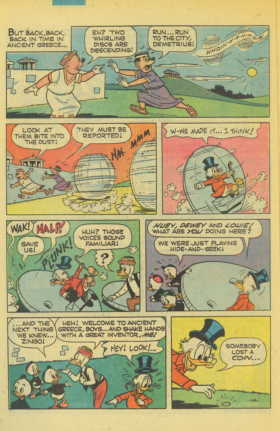 Read online Uncle Scrooge (1953) comic -  Issue #169 - 6