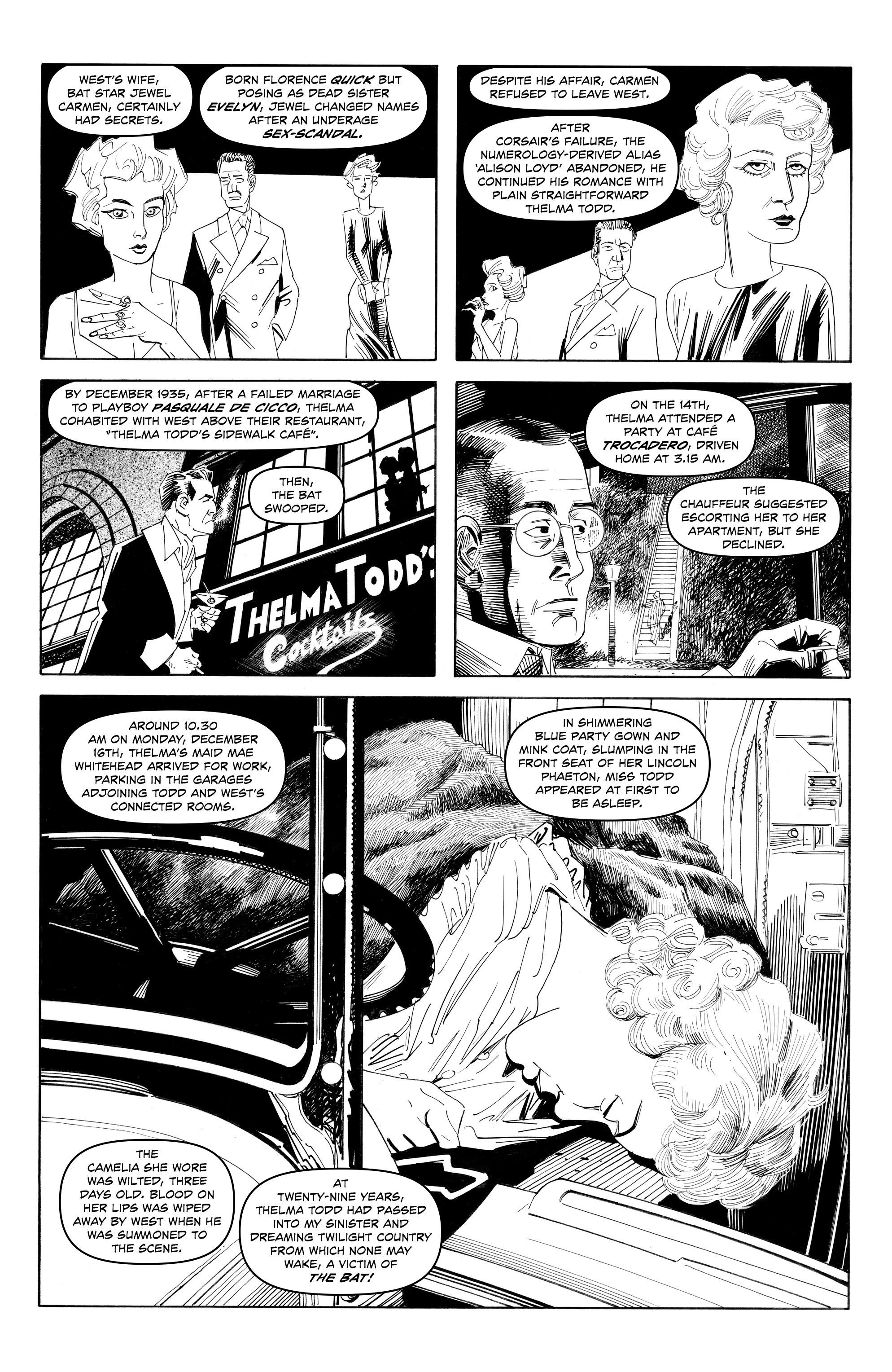 Read online Alan Moore's Cinema Purgatorio comic -  Issue #9 - 8