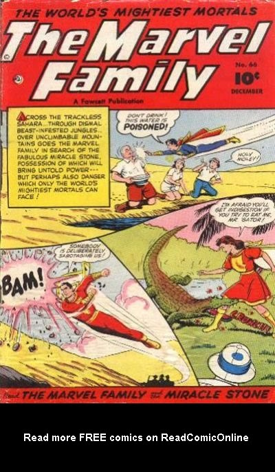 The Marvel Family 66 Page 1