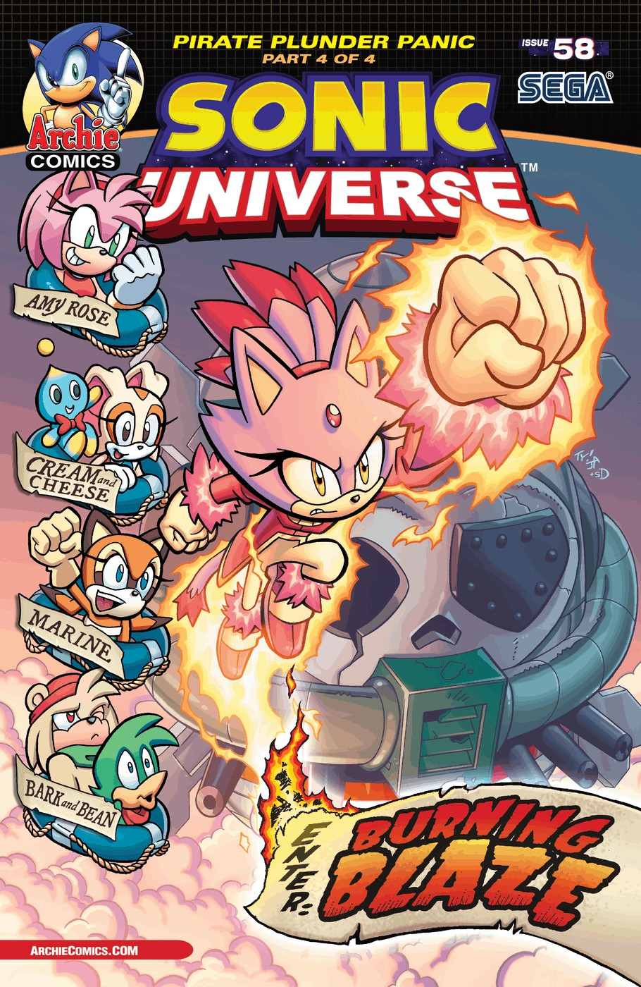 Sonic Universe 58 Page 1
