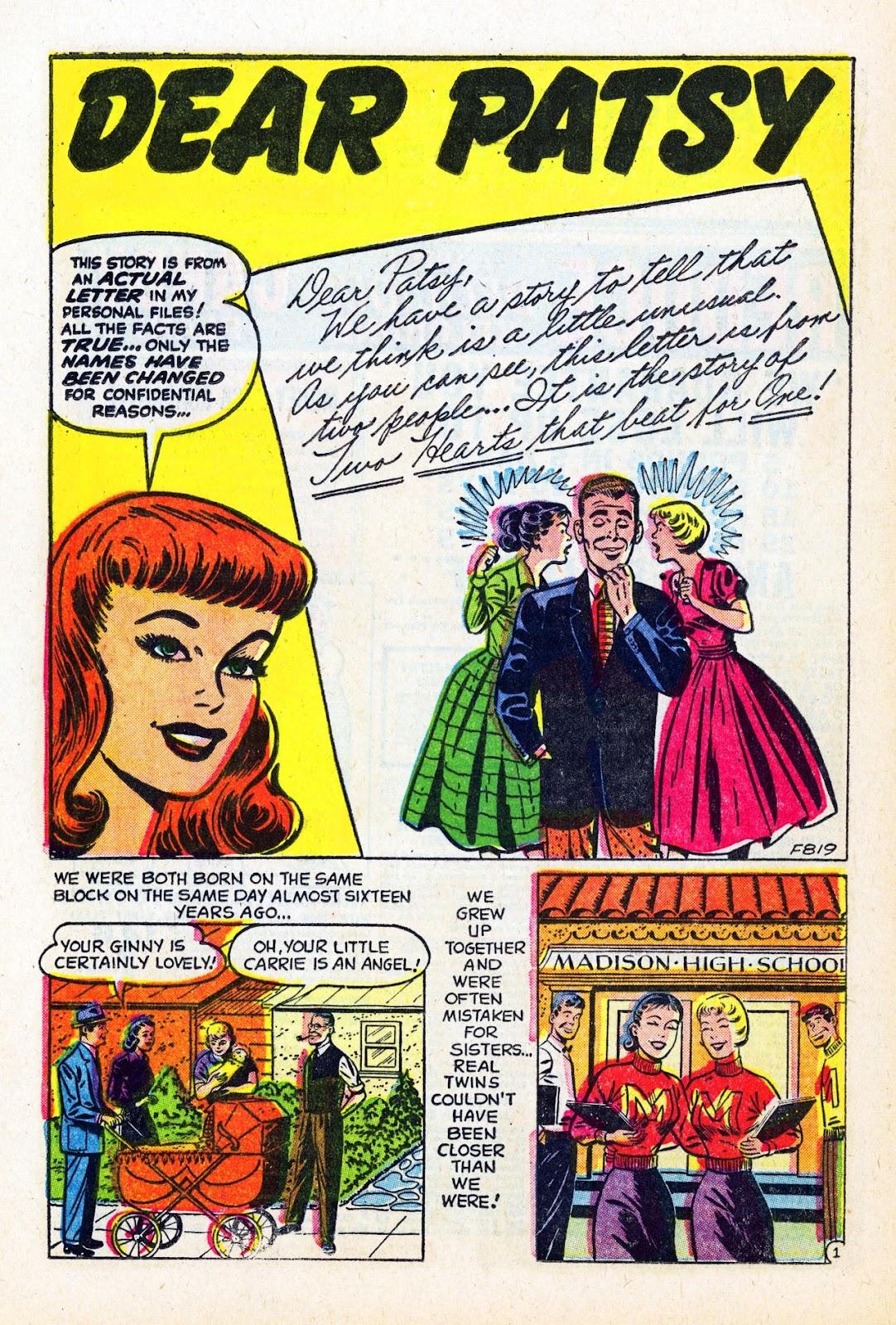 Read online Patsy Walker comic -  Issue #58 - 20
