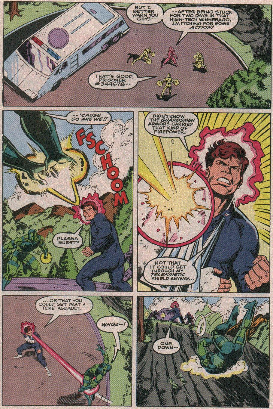 The New Warriors Issue #26 #30 - English 3