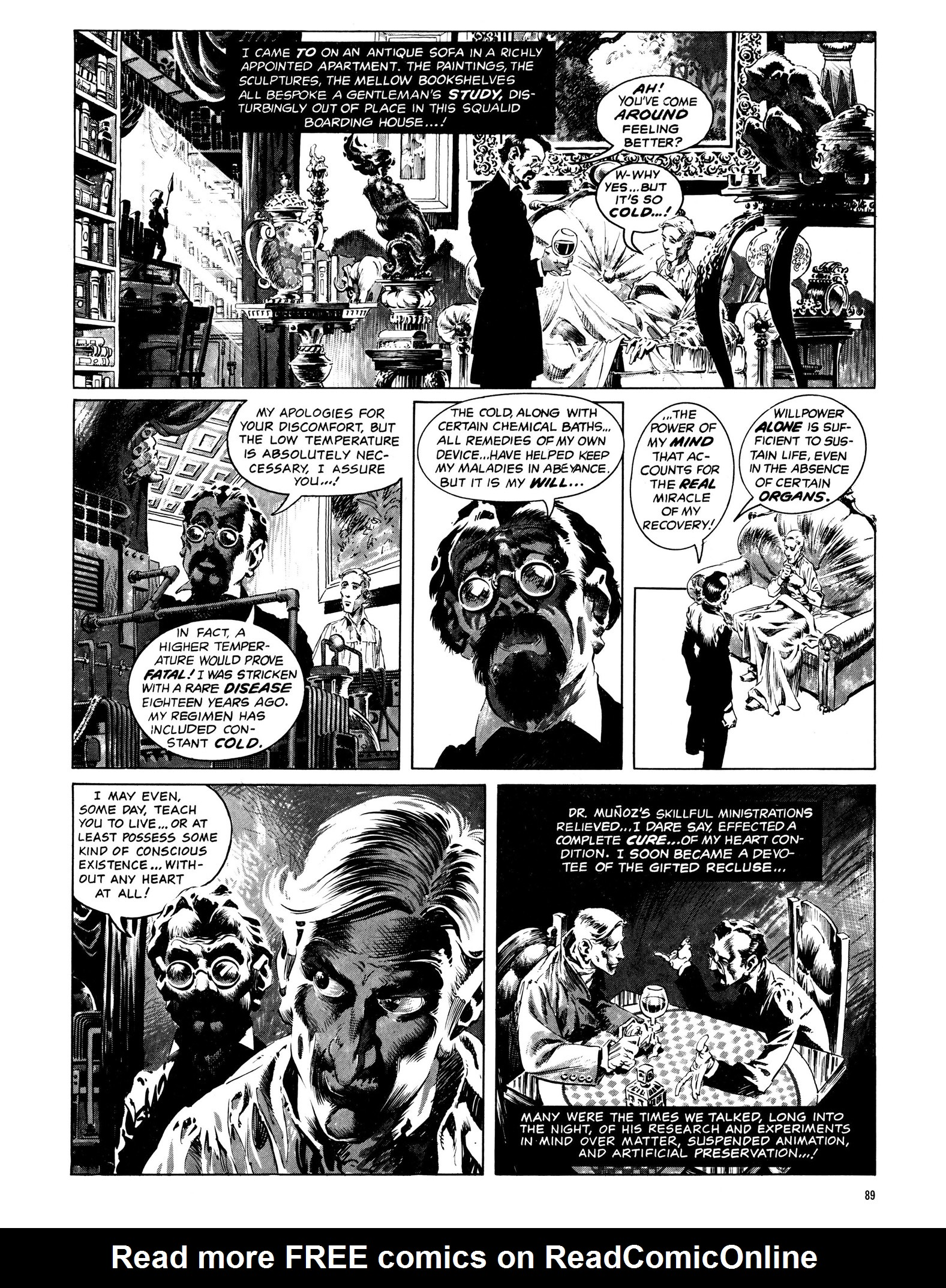 Read online Eerie Archives comic -  Issue # TPB 13 - 90