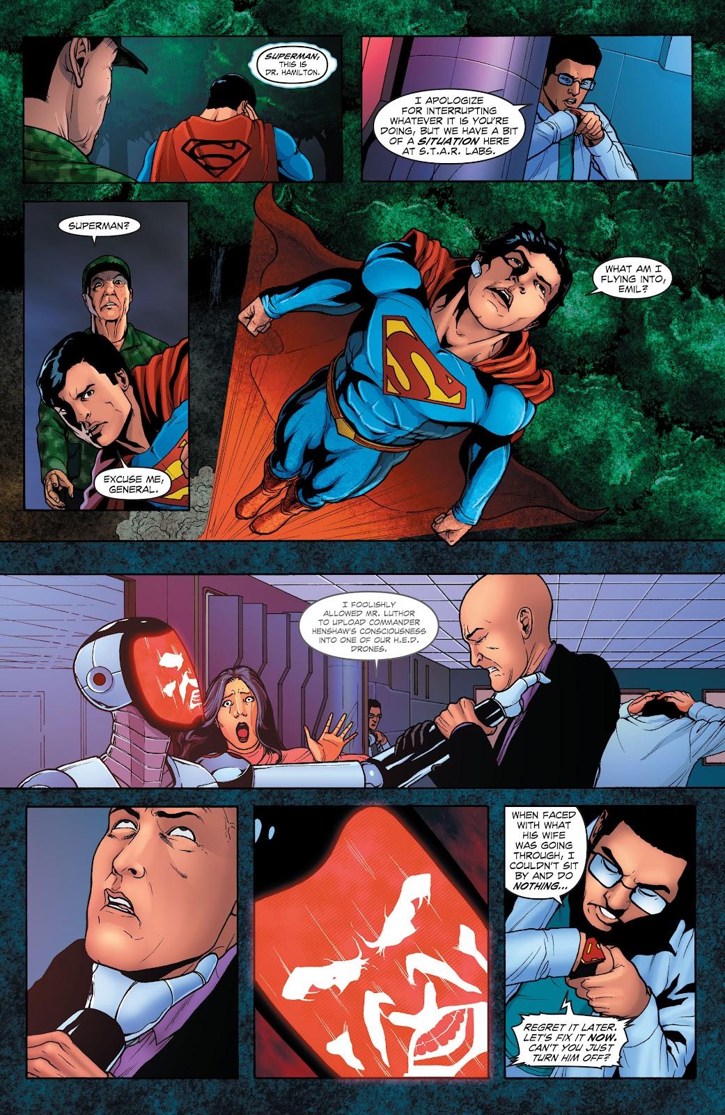 Read online Smallville Season 11 [II] comic -  Issue # TPB 1 - 105