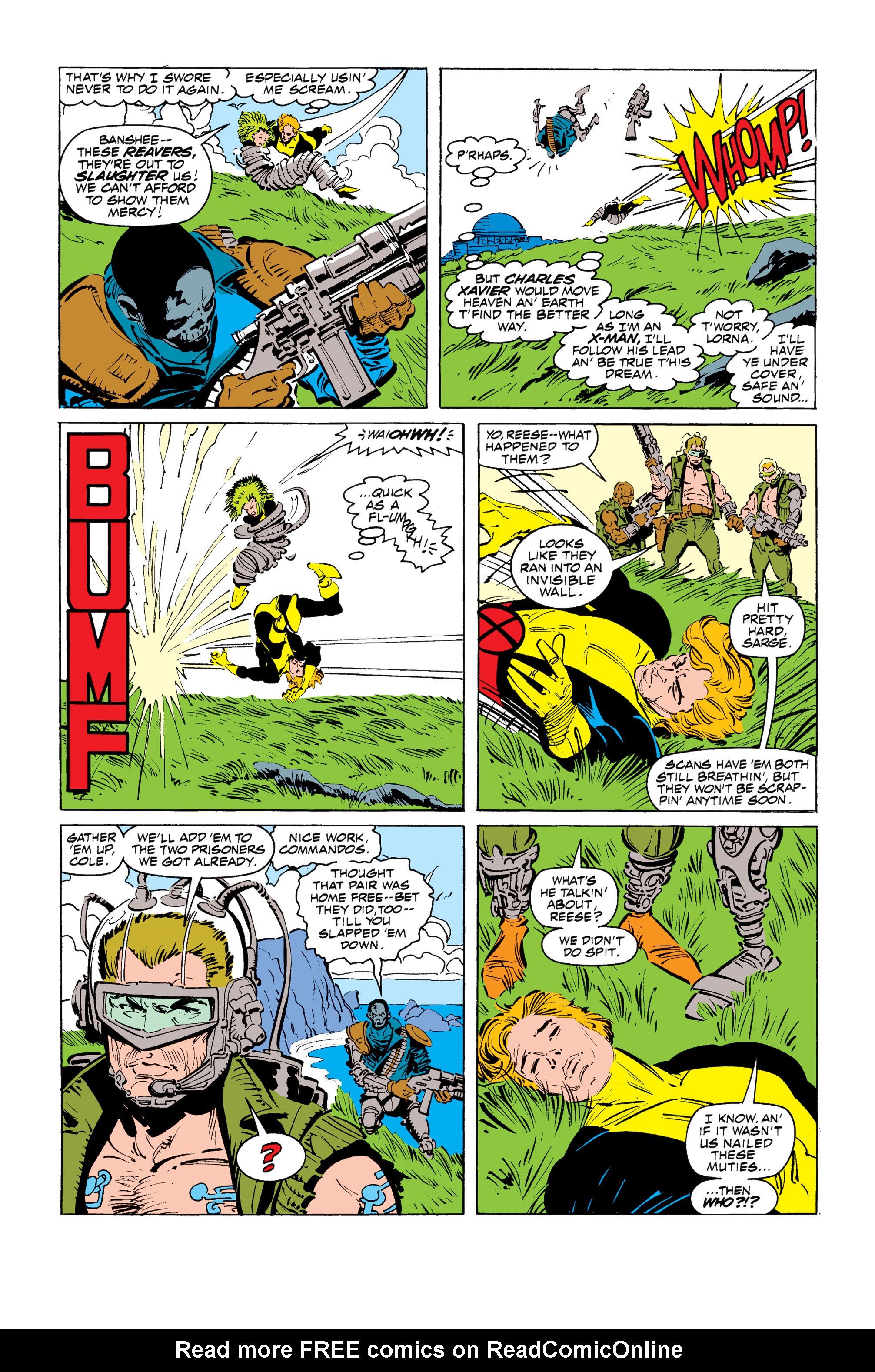 Read online Uncanny X-Men (1963) comic -  Issue #255 - 6