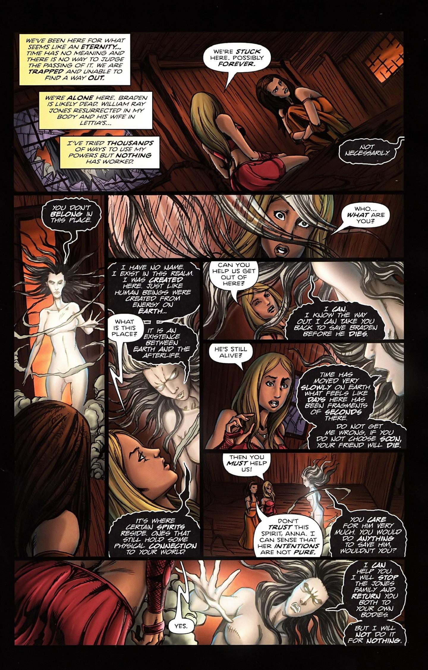 Read online Salem's Daughter: The Haunting comic -  Issue #5 - 21