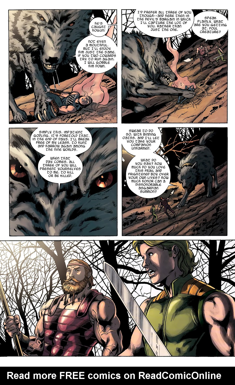Warriors Three Issue #2 #2 - English 15