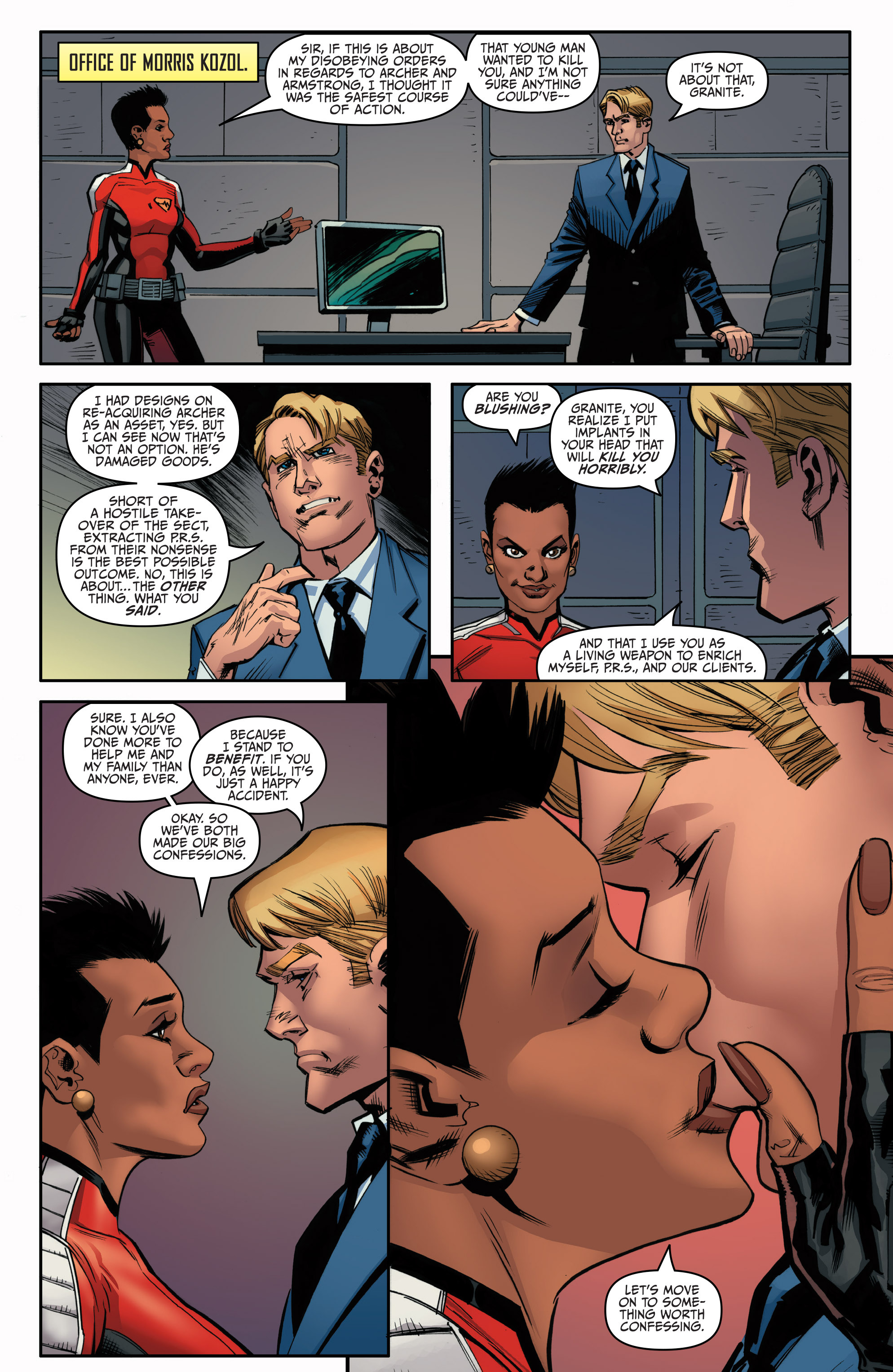 Read online Archer and Armstrong comic -  Issue #Archer and Armstrong _TPB 5 - 119