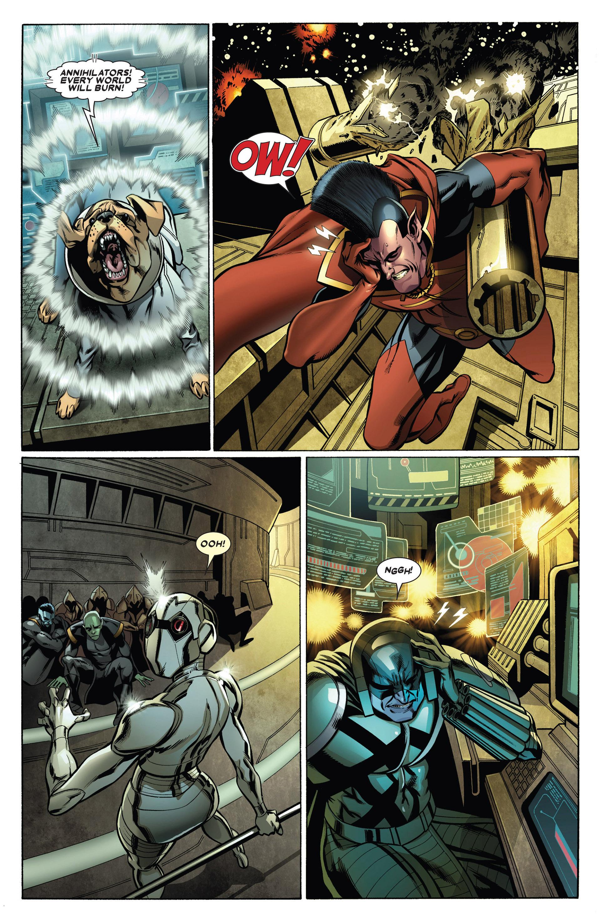 Read online Annihilators: Earthfall comic -  Issue #1 - 9