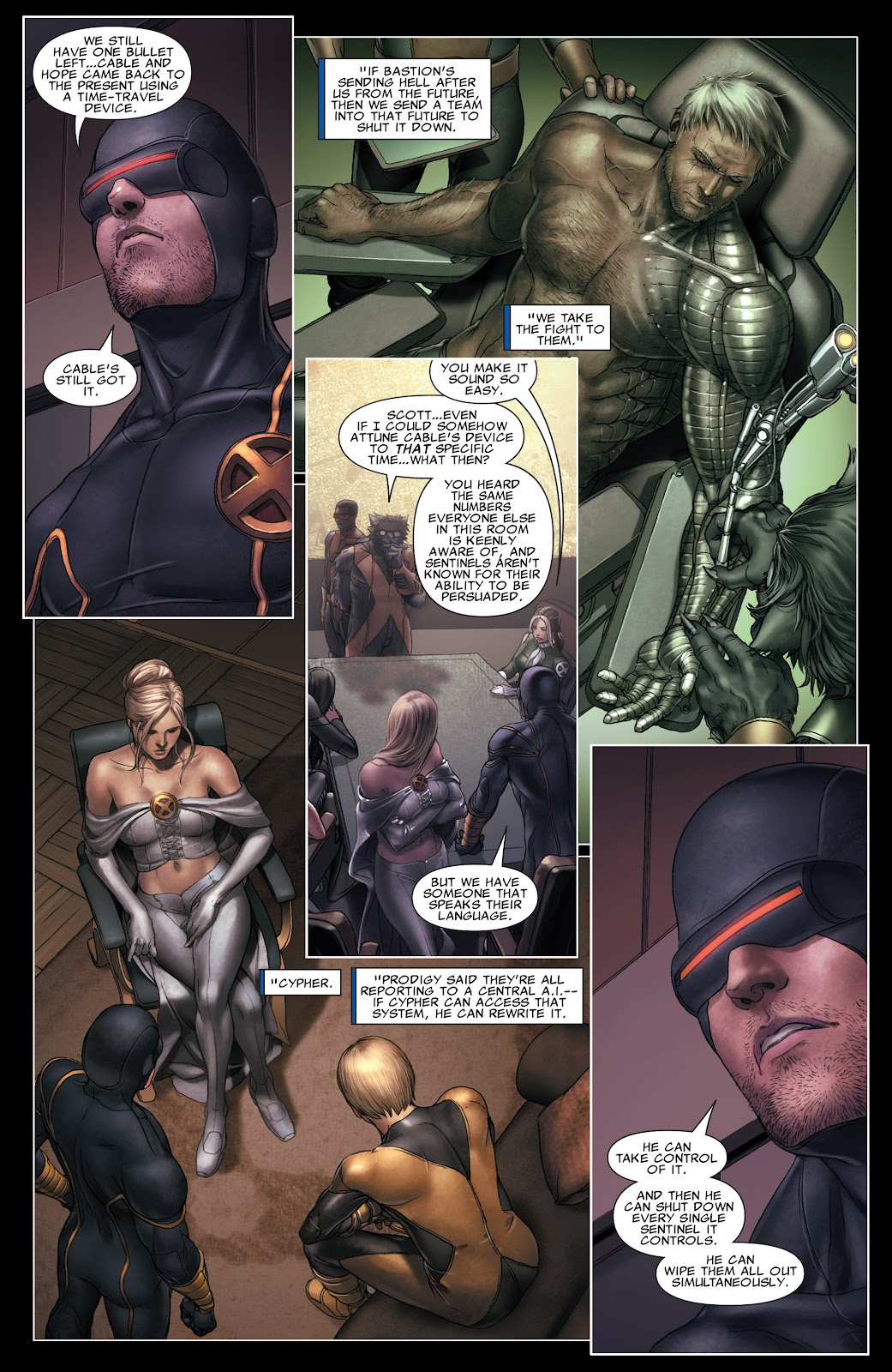 Read online X-Men: Second Coming comic -  Issue # _TPB (Part 3) - 21