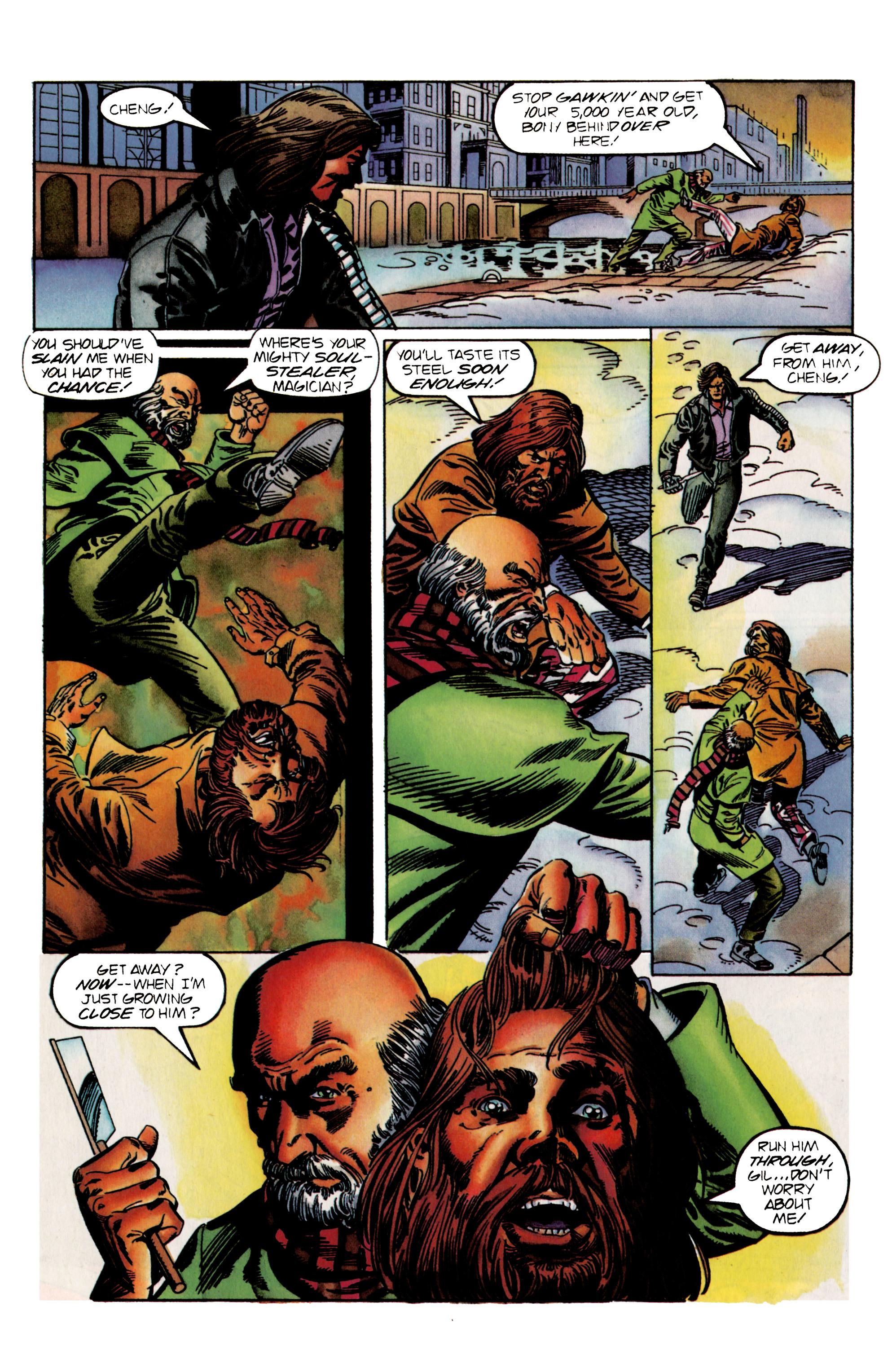 Read online Eternal Warrior (1992) comic -  Issue #24 - 19