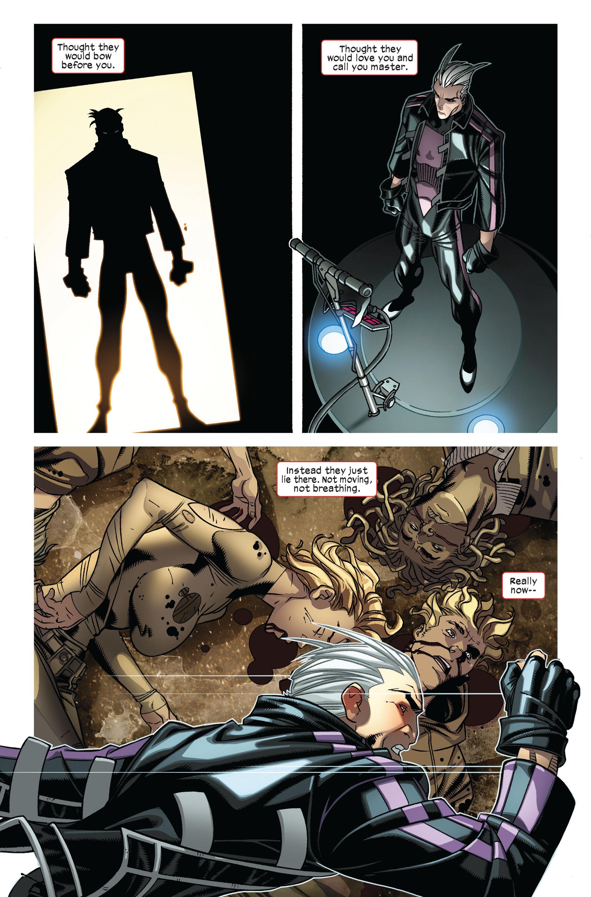 Read online Ultimate Comics X-Men comic -  Issue #7 - 10