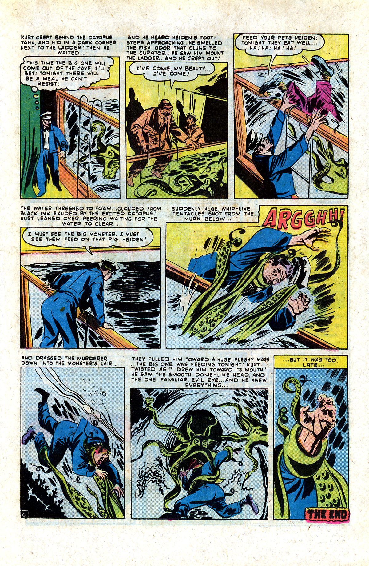 Read online Adventures into Weird Worlds comic -  Issue #9 - 12