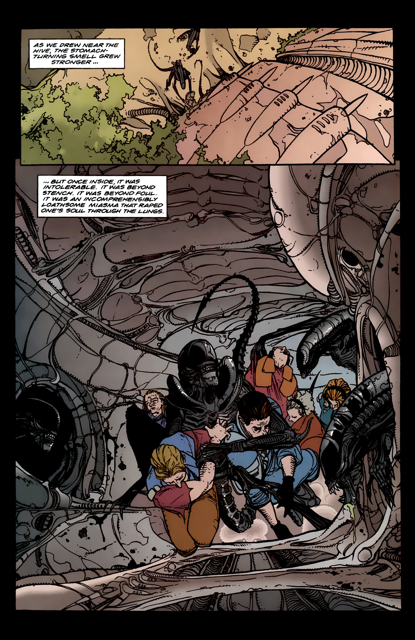 Read online Aliens: Labyrinth comic -  Issue #3 - 9