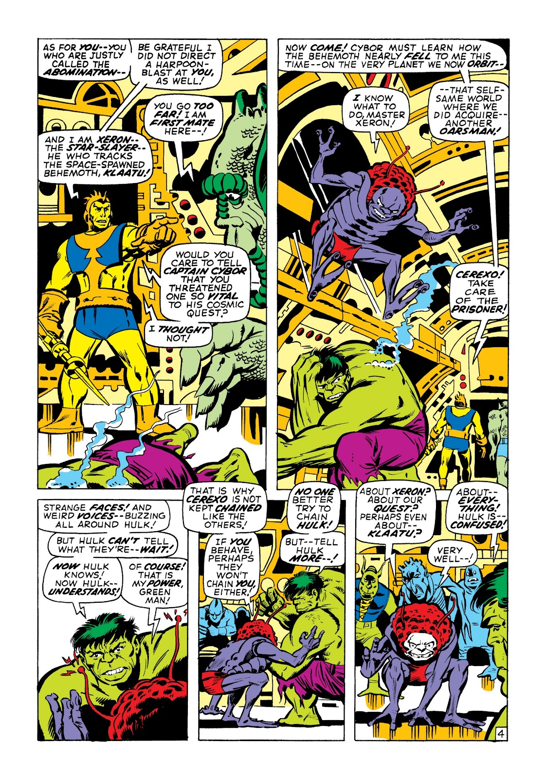 Read online Marvel Masterworks: The Incredible Hulk comic -  Issue # TPB 7 (Part 1) - 51