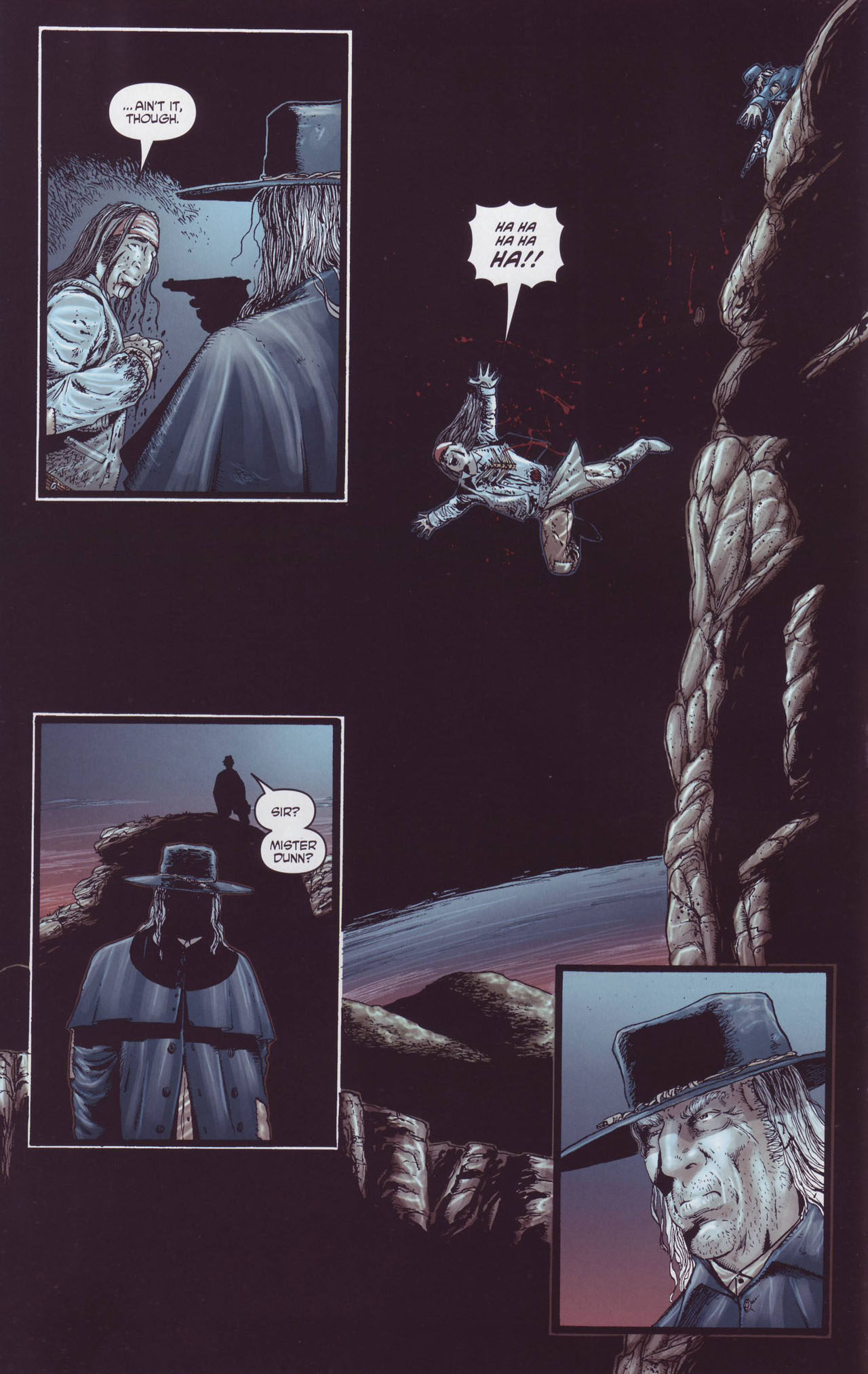 Read online Garth Ennis' Streets of Glory comic -  Issue #4 - 16