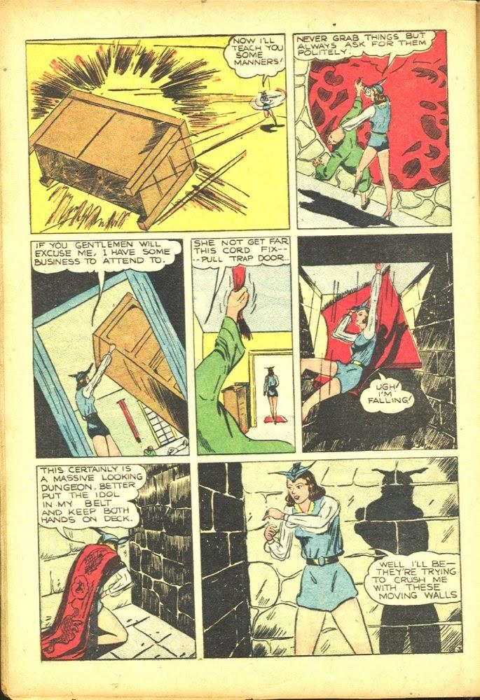 Read online Amazing Man Comics comic -  Issue #25 - 54