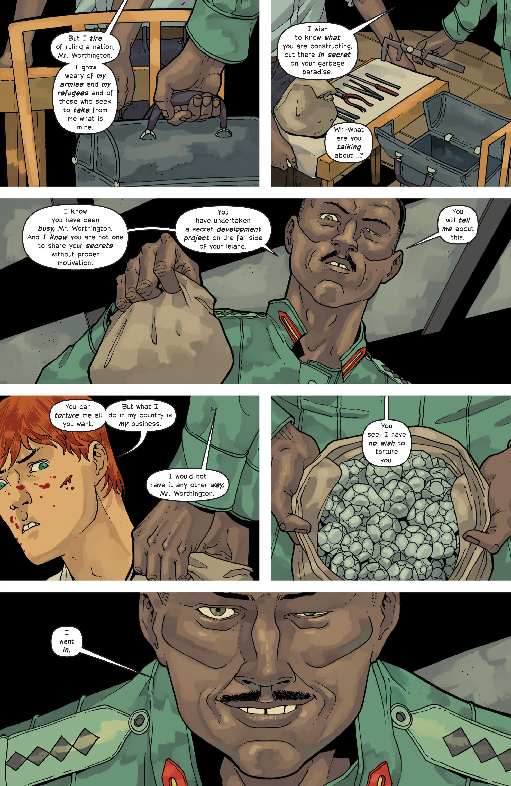 Read online Great Pacific comic -  Issue #11 - 14