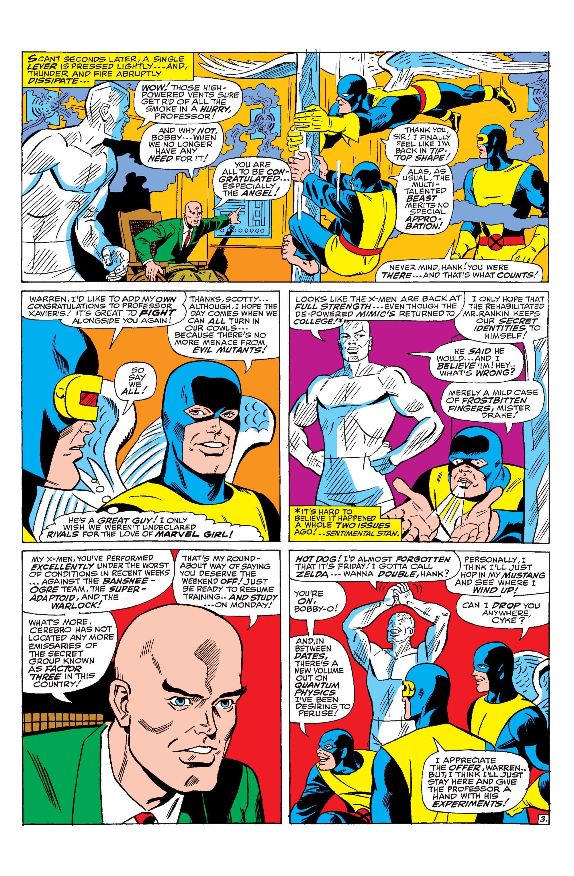 Read online Uncanny X-Men (1963) comic -  Issue #31 - 4