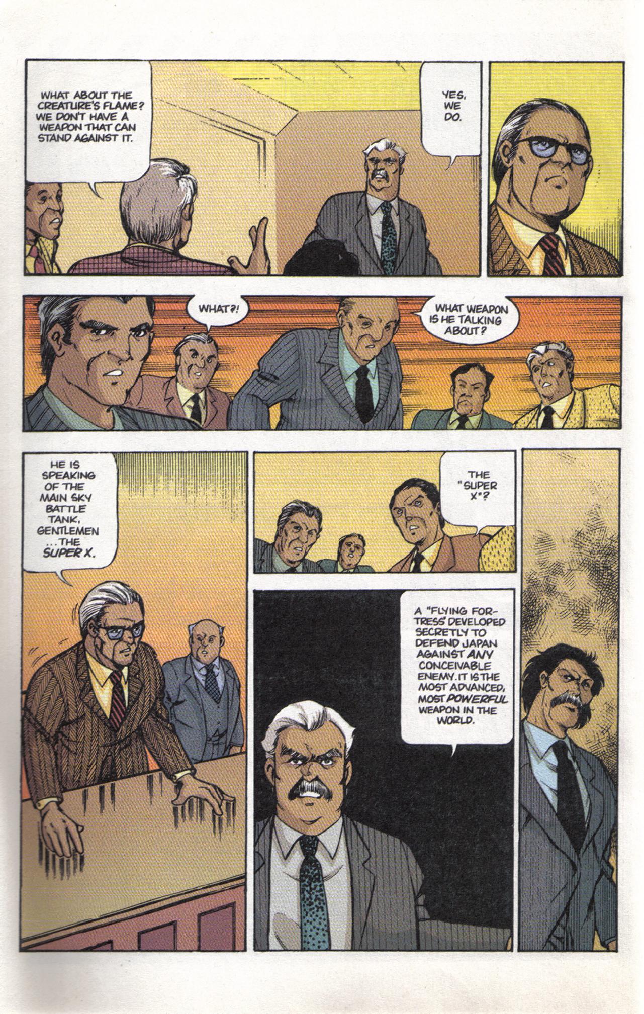 Read online Dark Horse Classics: Terror of Godzilla comic -  Issue #3 - 4