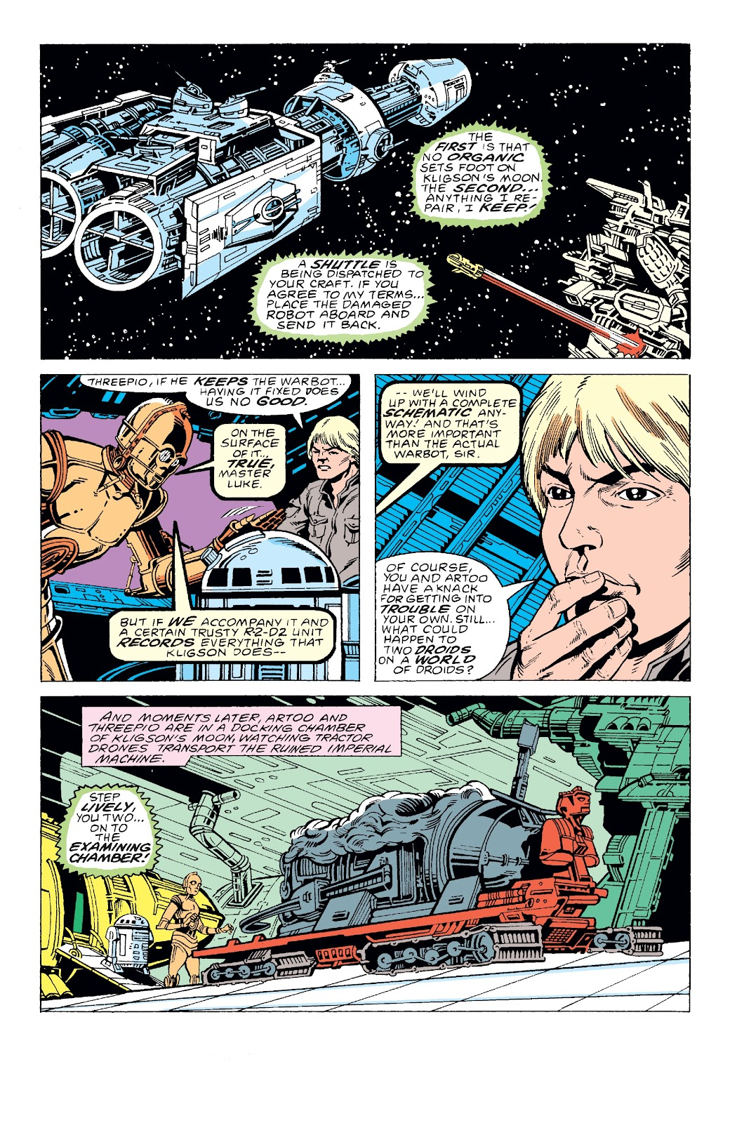 Read online Star Wars Legends: The Original Marvel Years - Epic Collection comic -  Issue # TPB 3 (Part 2) - 68