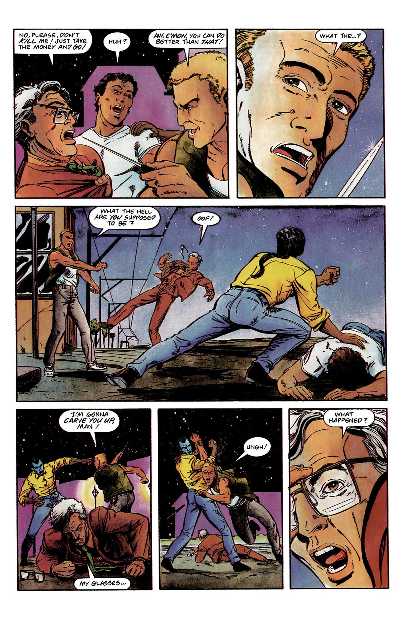 Read online Shadowman (1992) comic -  Issue #2 - 7