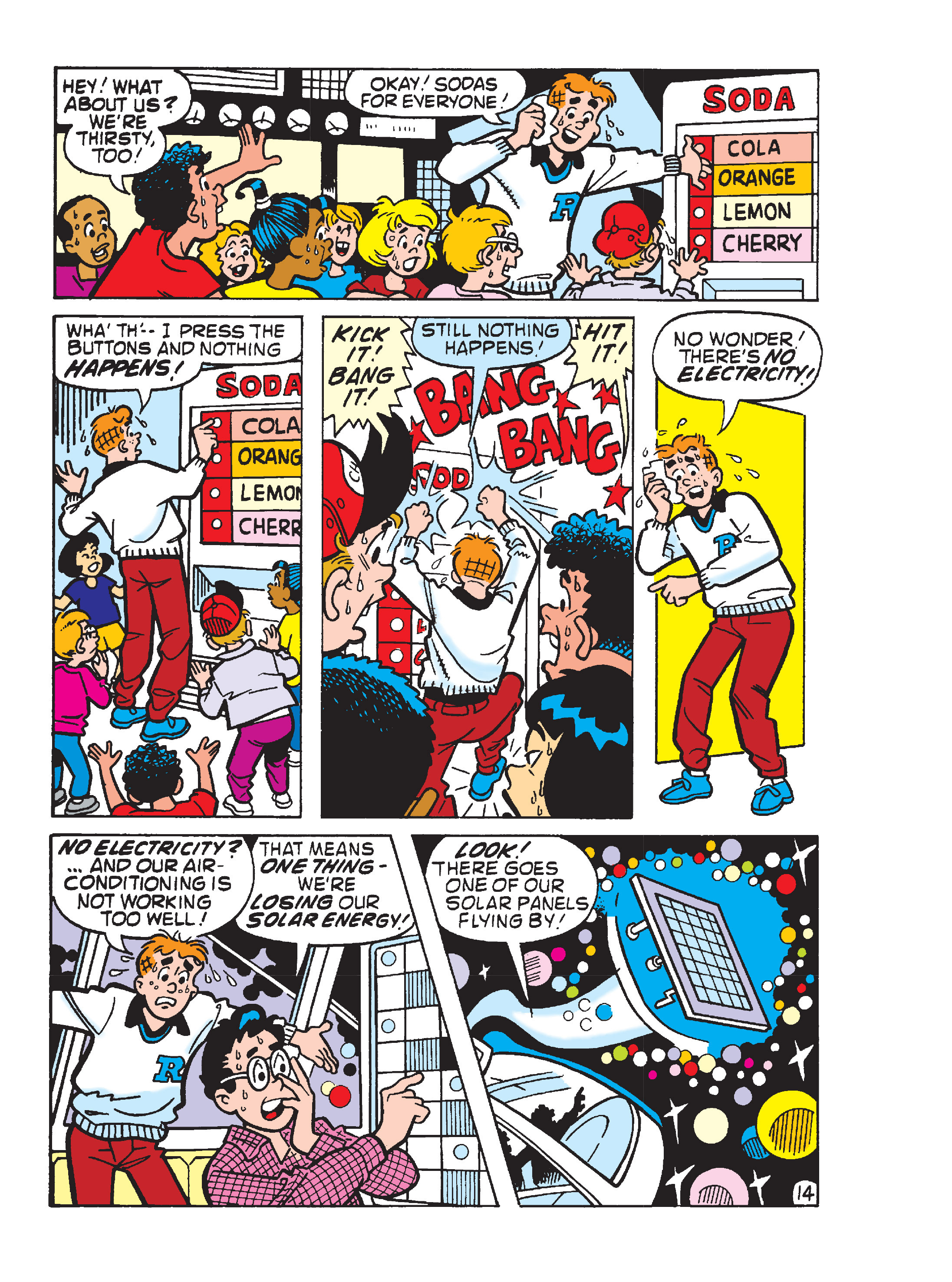 Read online Archie's Funhouse Double Digest comic -  Issue #13 - 107