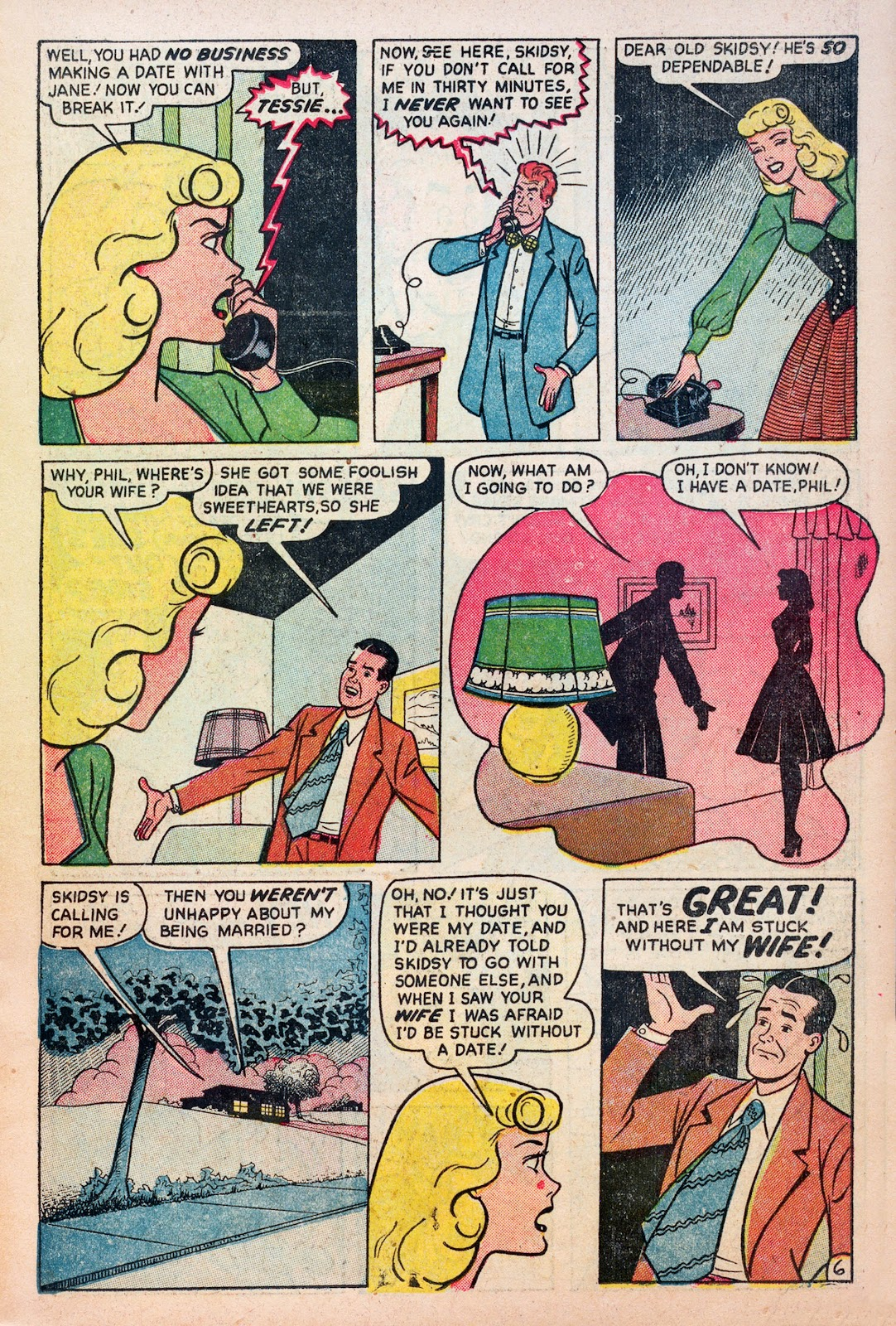 Read online Comedy Comics (1948) comic -  Issue #6 - 15
