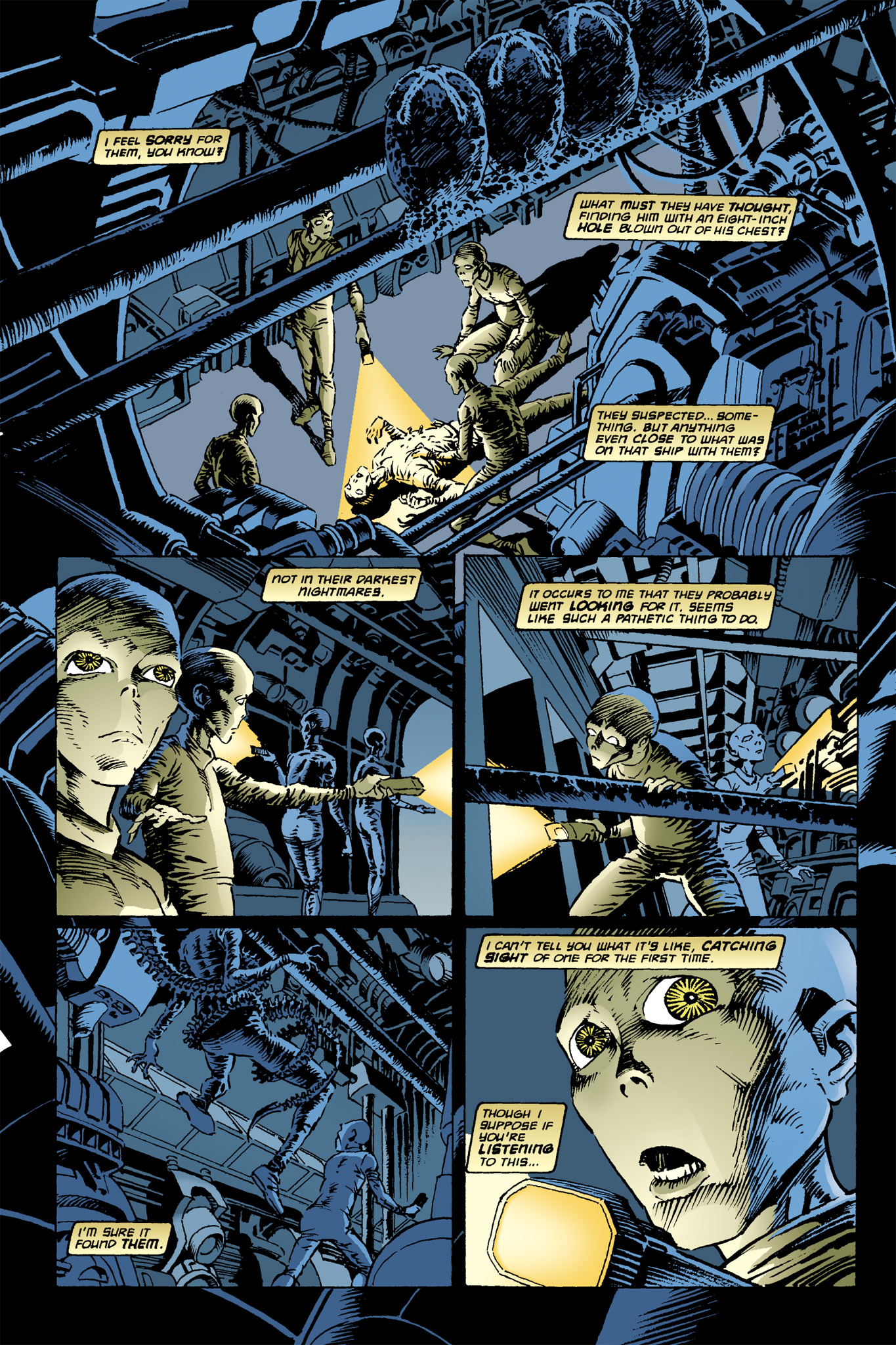 Read online Aliens: Incubation/Lucky/Taste comic -  Issue # Full - 8