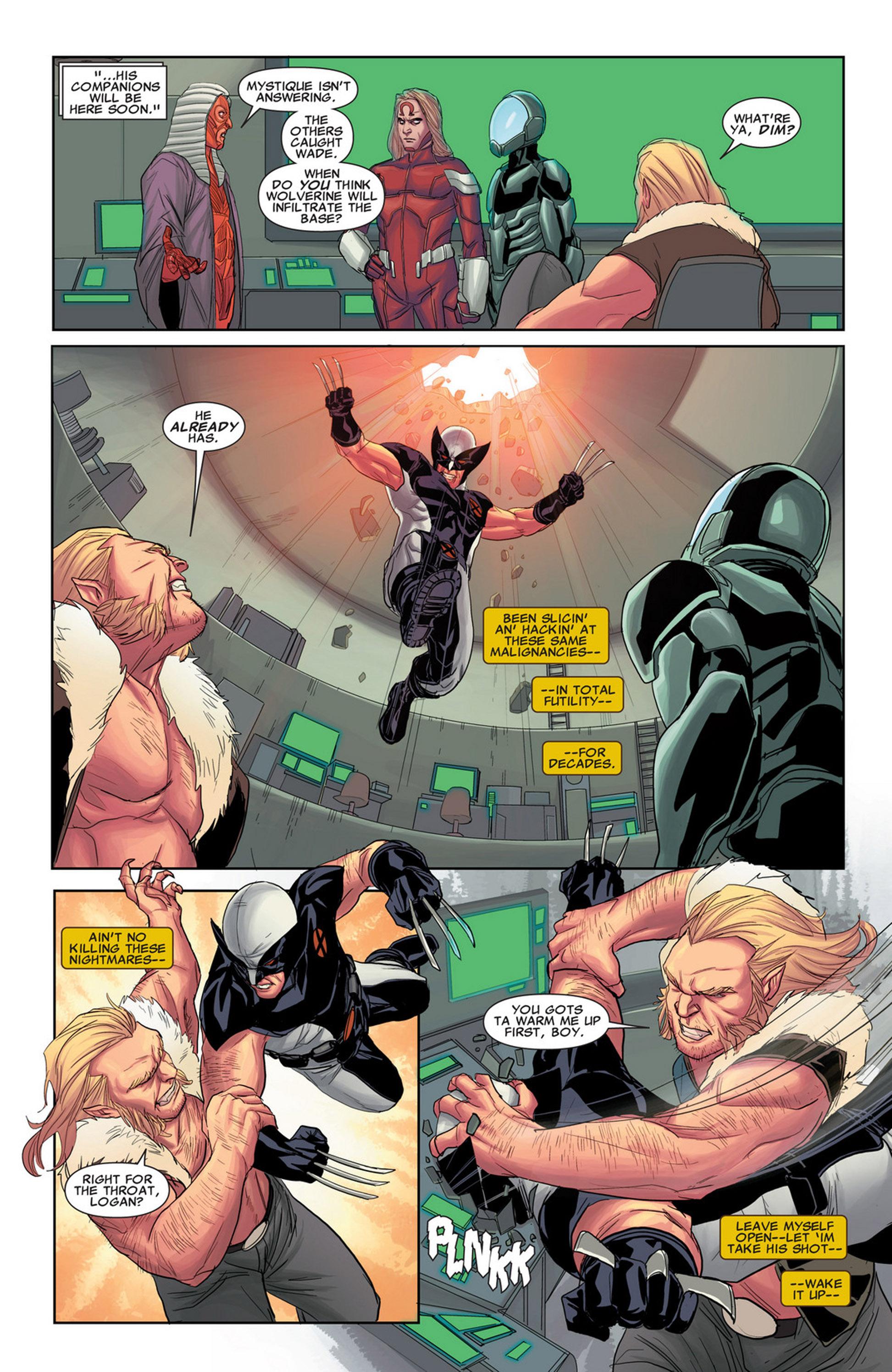 Uncanny X-Force (2010) #32 #34 - English 17