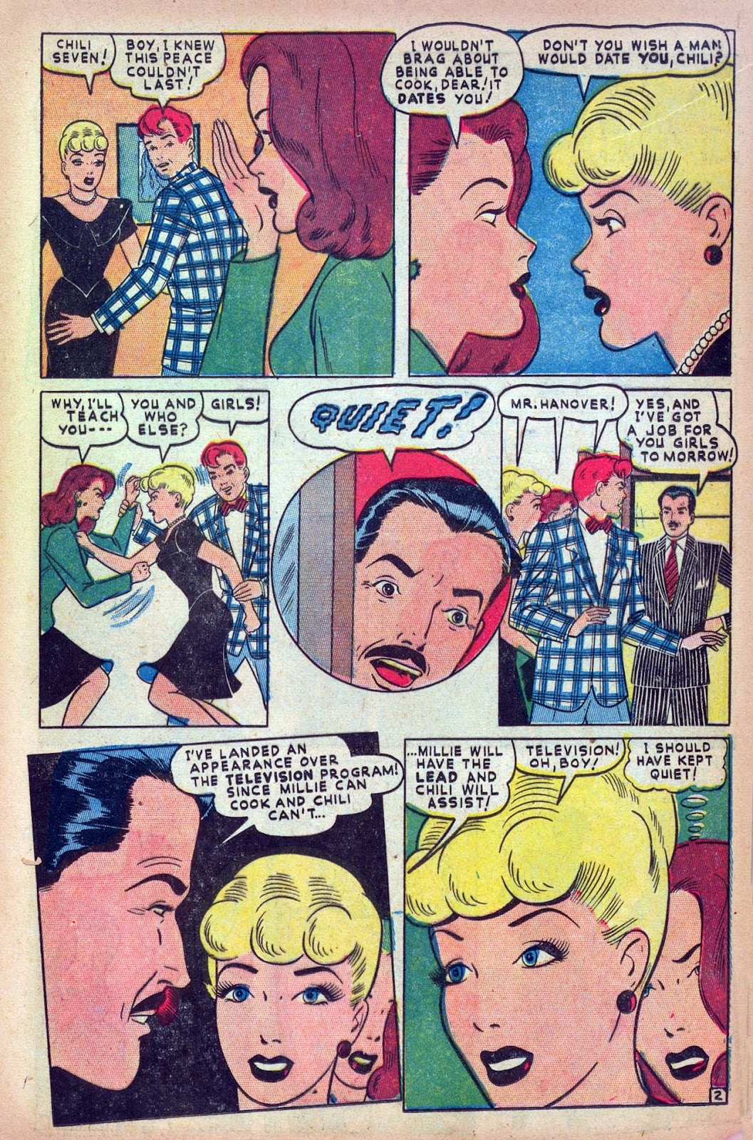 Read online Millie the Model comic -  Issue #13 - 17