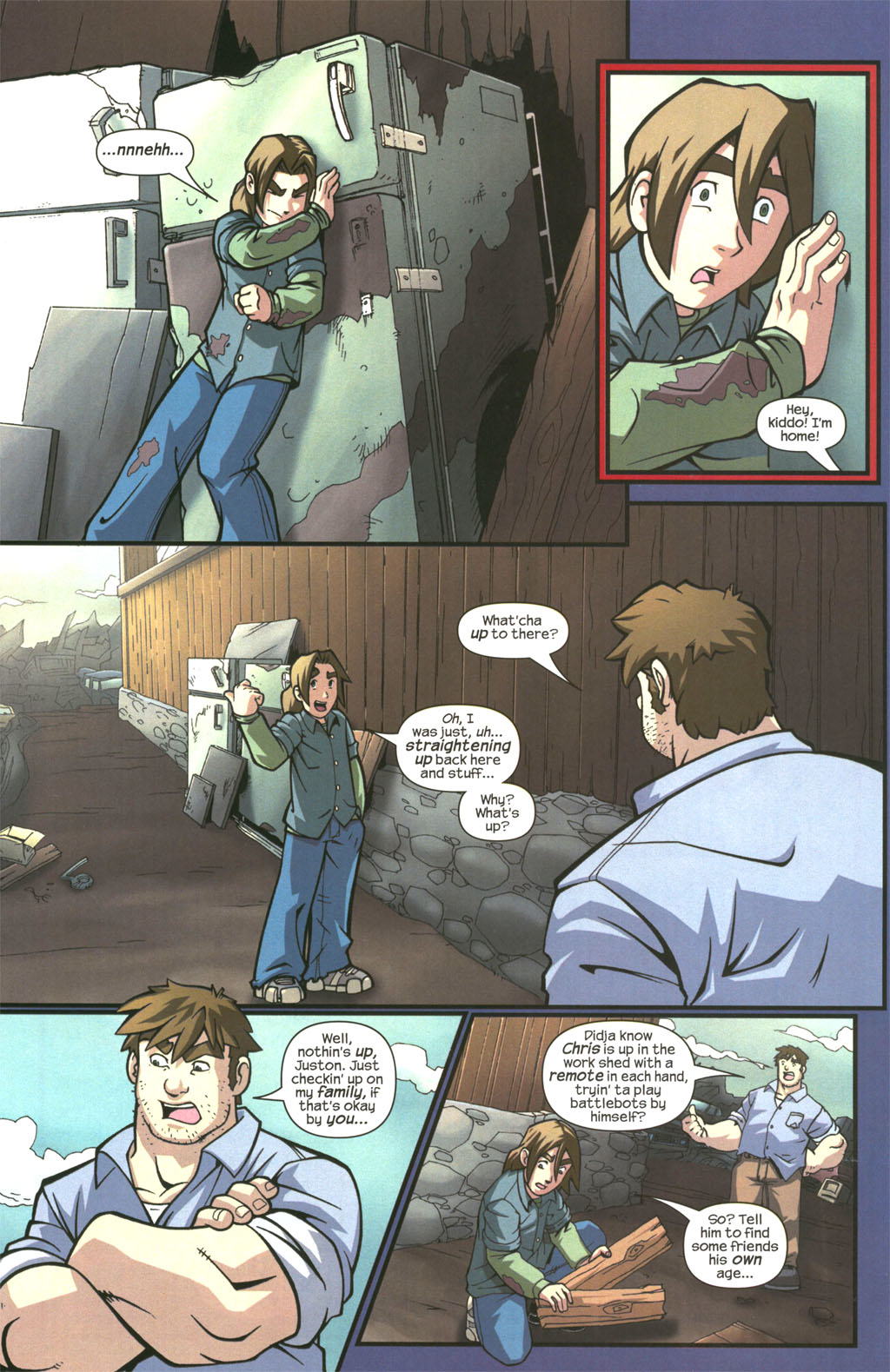 Read online Sentinel comic -  Issue #3 - 10