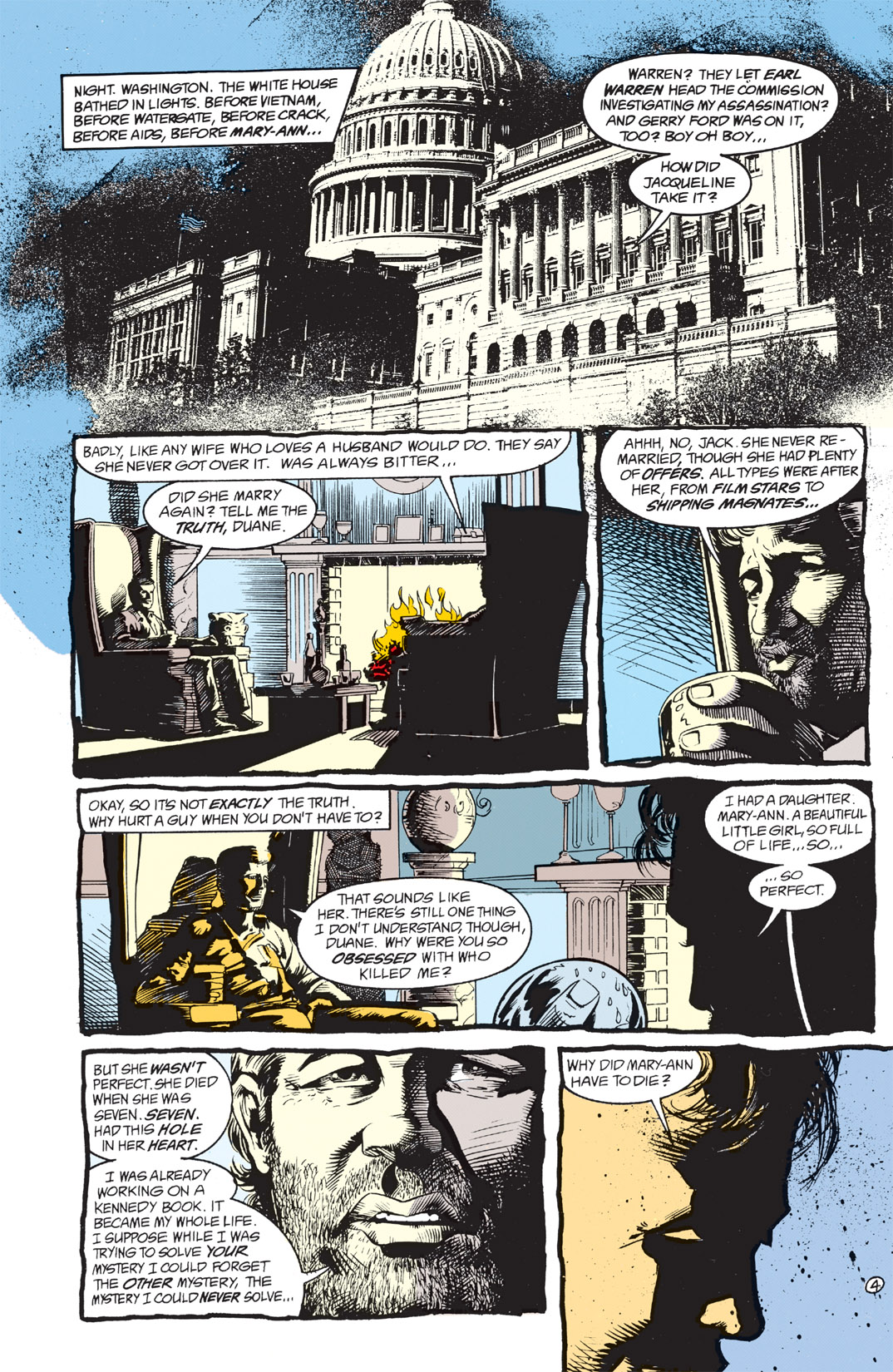 Read online Shade, the Changing Man comic -  Issue #3 - 6