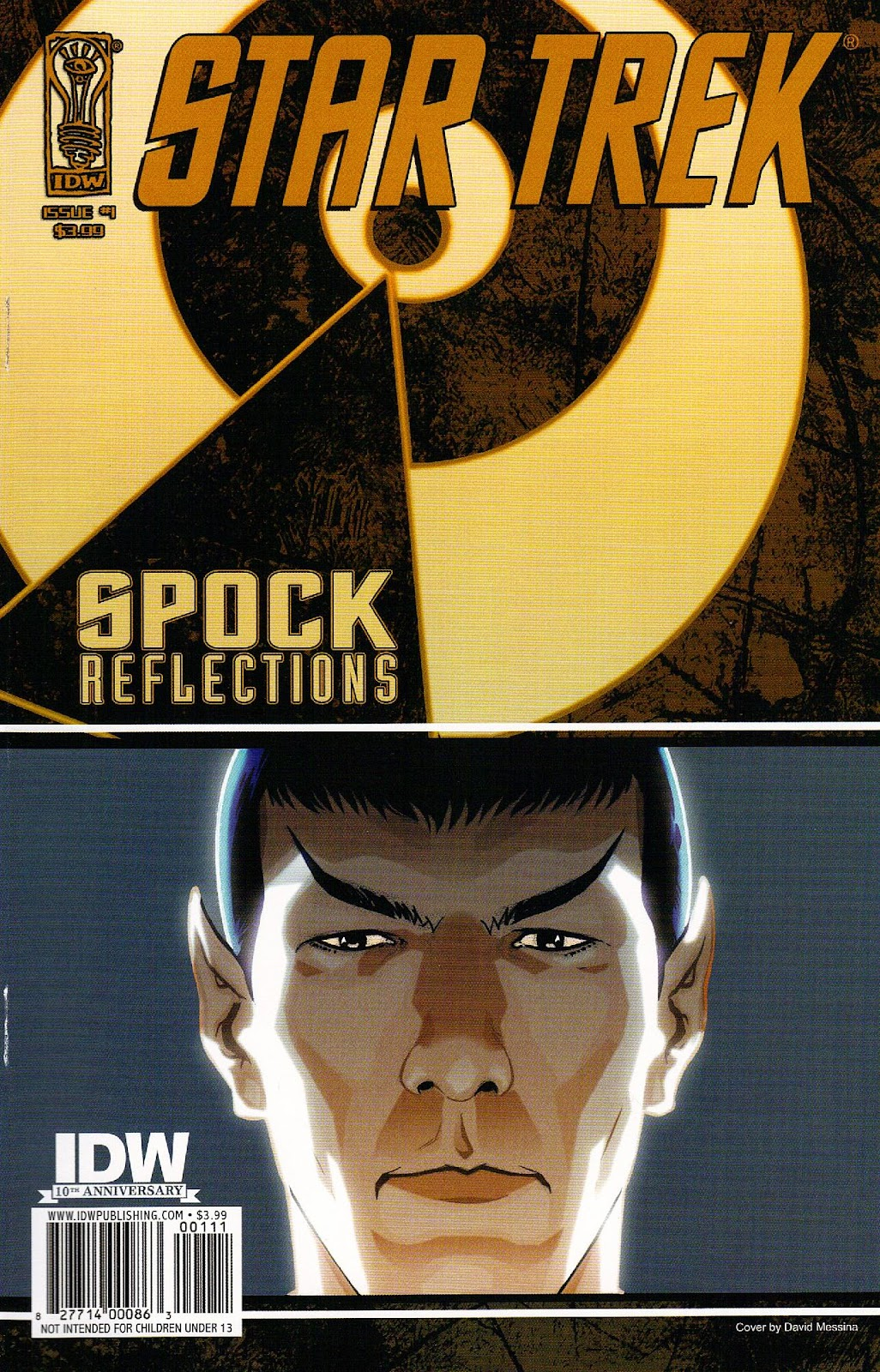Star Trek: Spock: Reflections issue 1 - Page 1