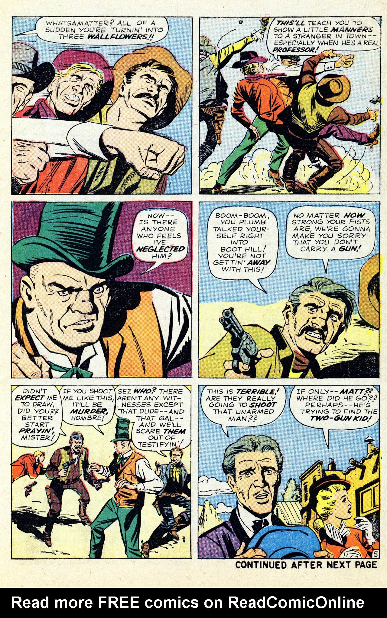 Read online Two-Gun Kid comic -  Issue #67 - 7
