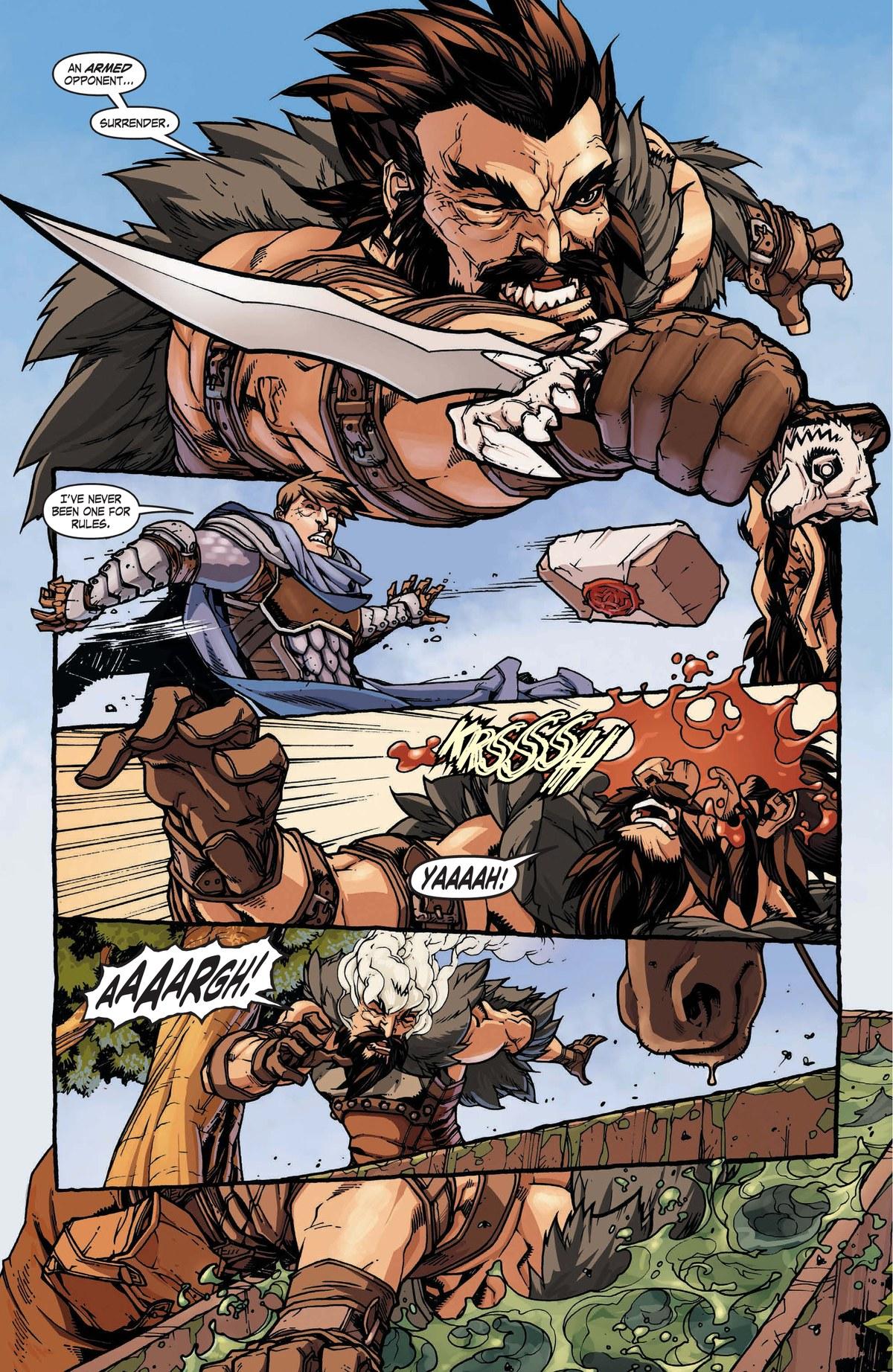 Read online World of Warcraft: Dark Riders comic -  Issue # Full - 10