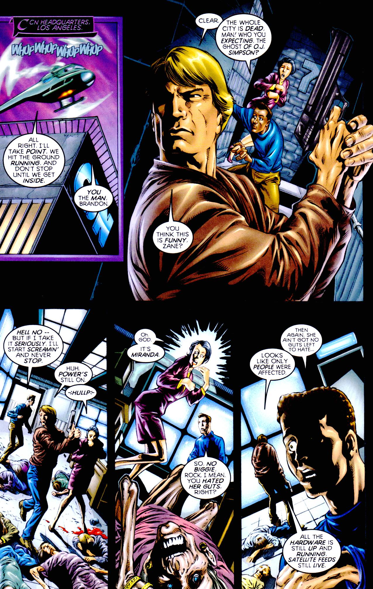 Read online Armageddon (1999) comic -  Issue #3 - 6