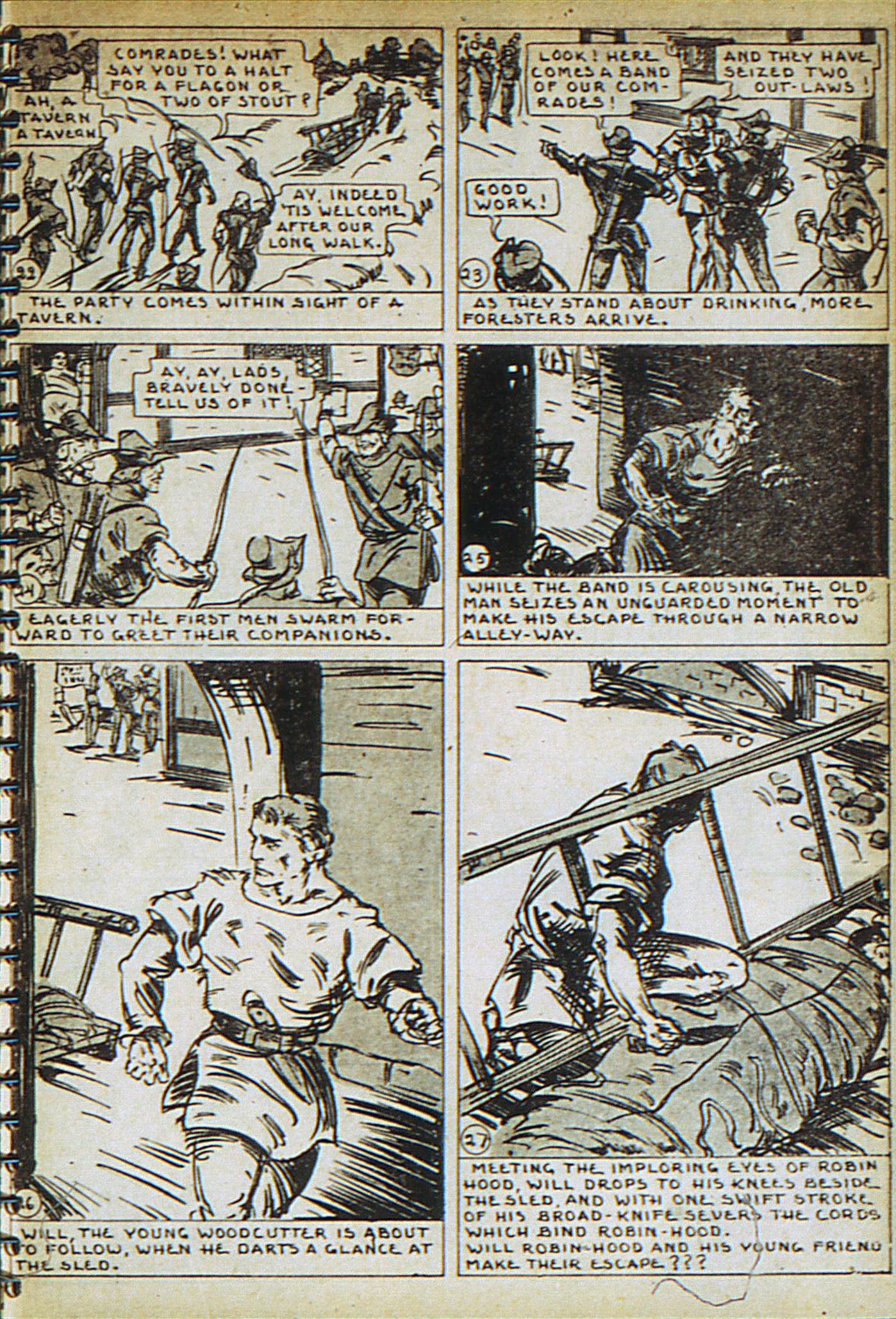 Read online Adventure Comics (1938) comic -  Issue #23 - 27