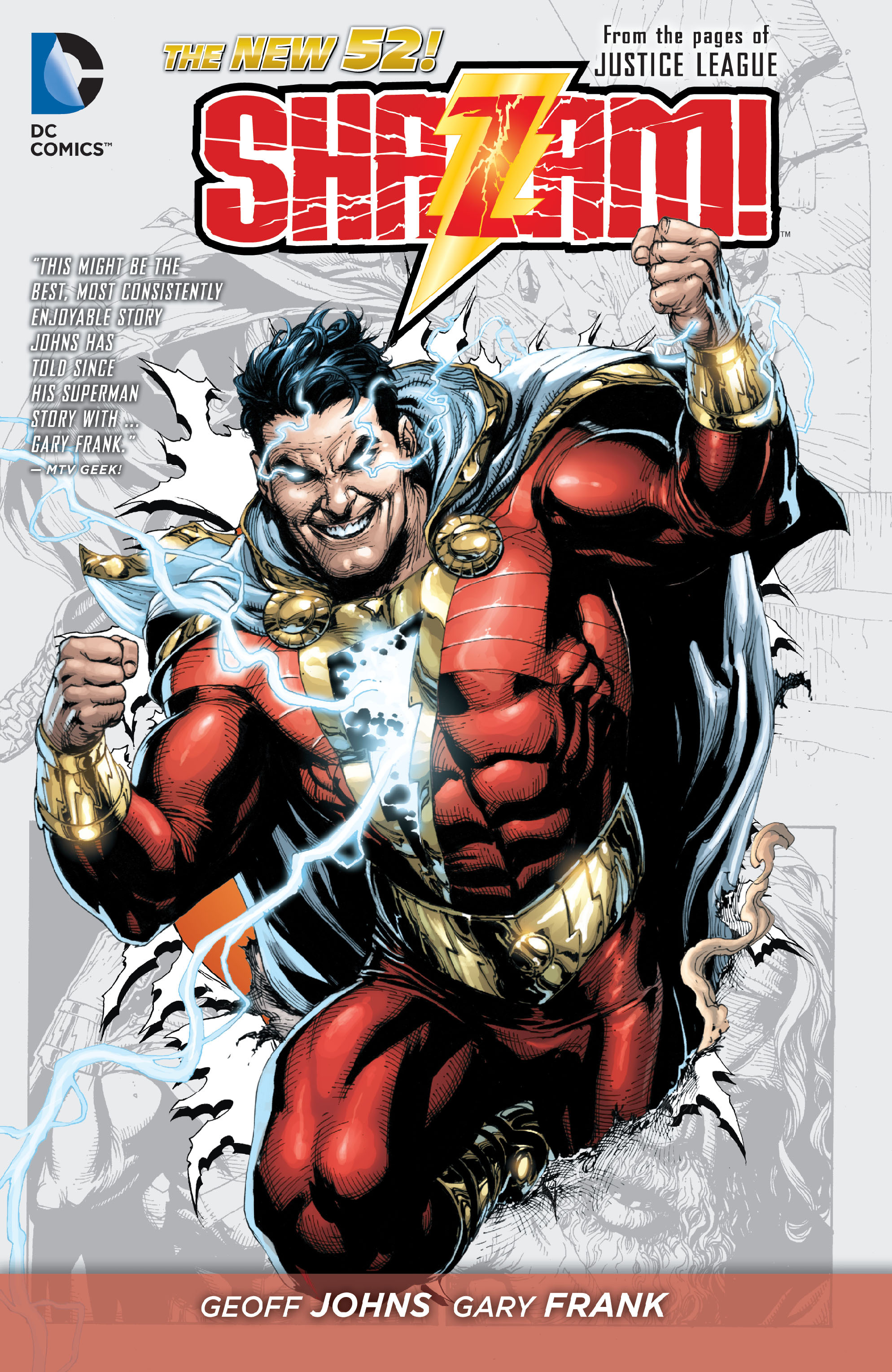 Read online Shazam! (2013) comic -  Issue #1 - 2