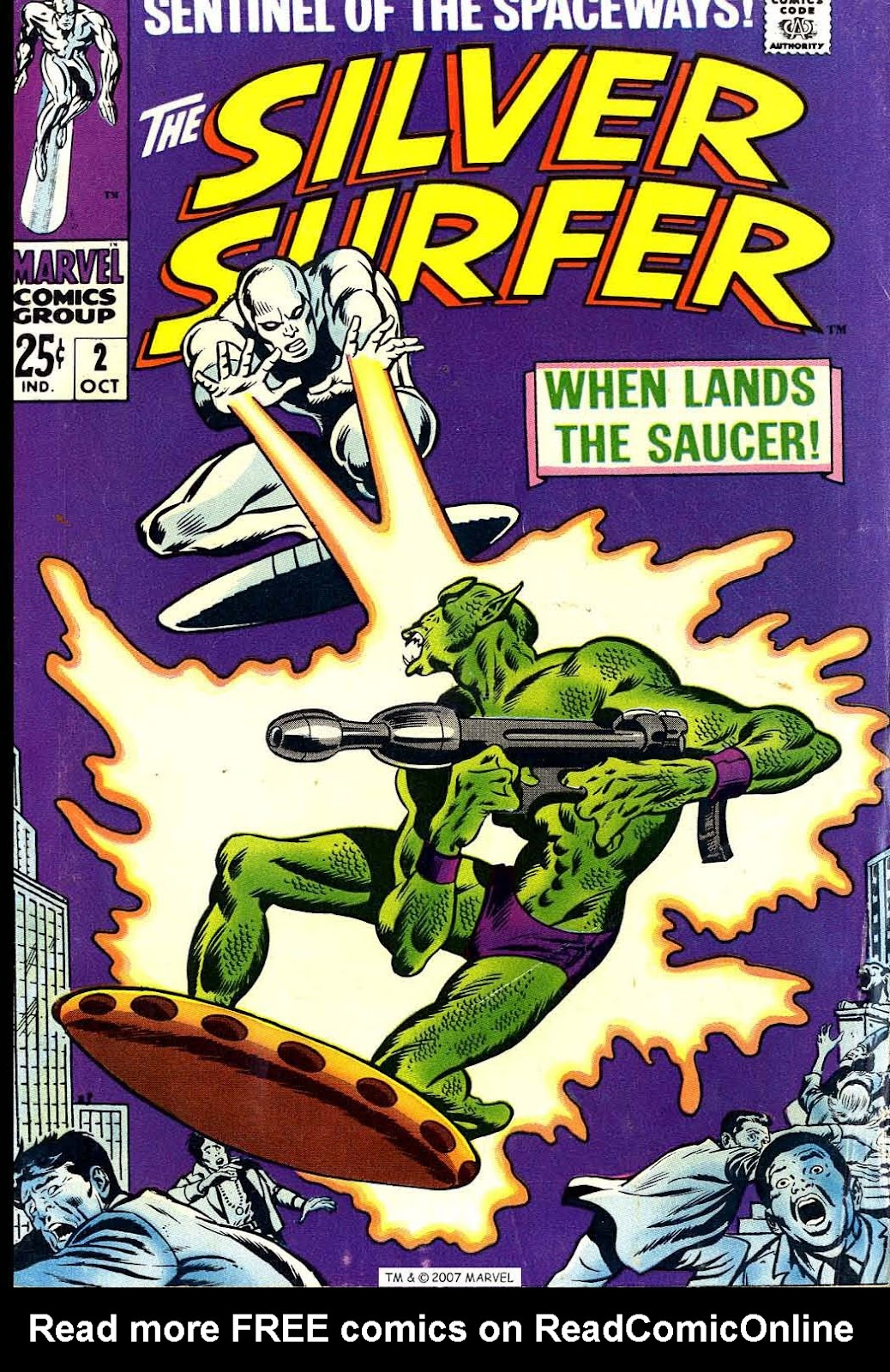 Silver Surfer (1968) Issue #2 #2 - English 1