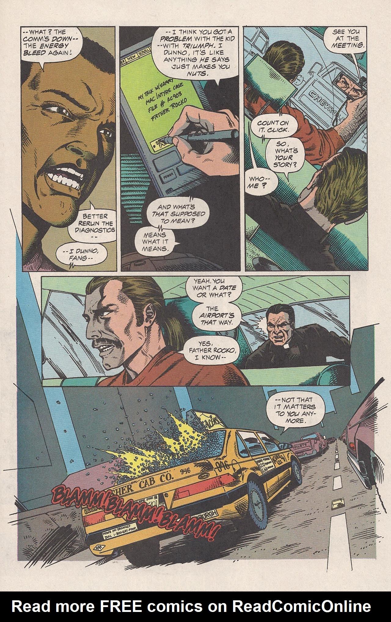 Read online Triumph comic -  Issue #2 - 21