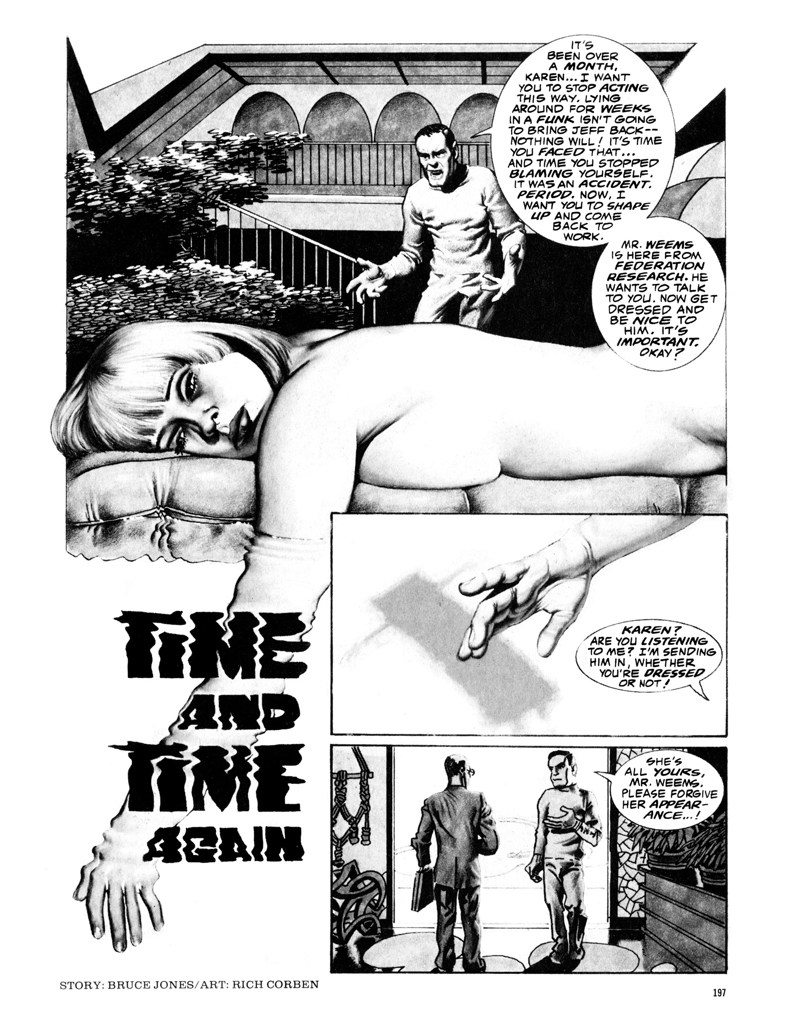 Read online Eerie Archives comic -  Issue # TPB 16 - 198